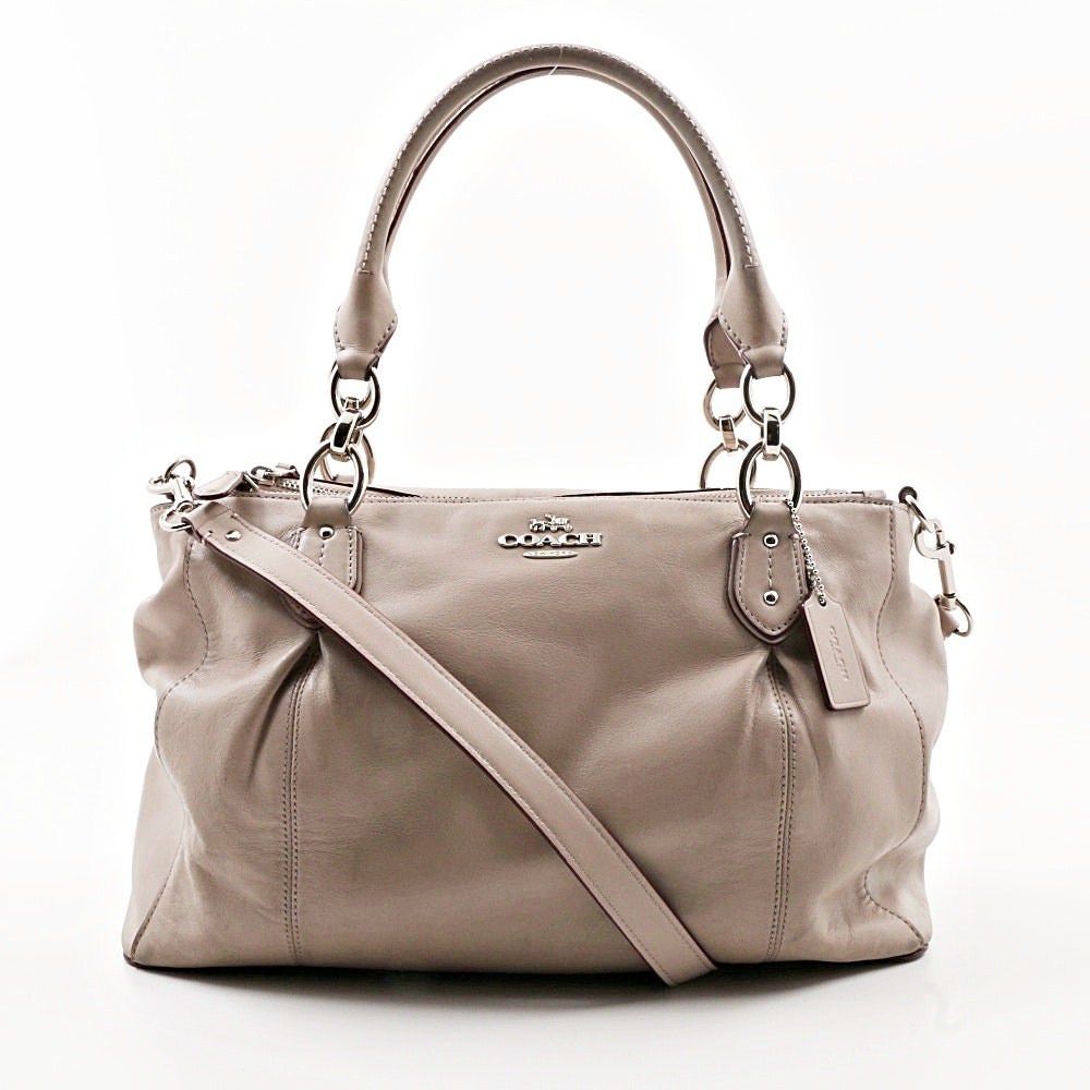 Coach Collete Leather Satchel