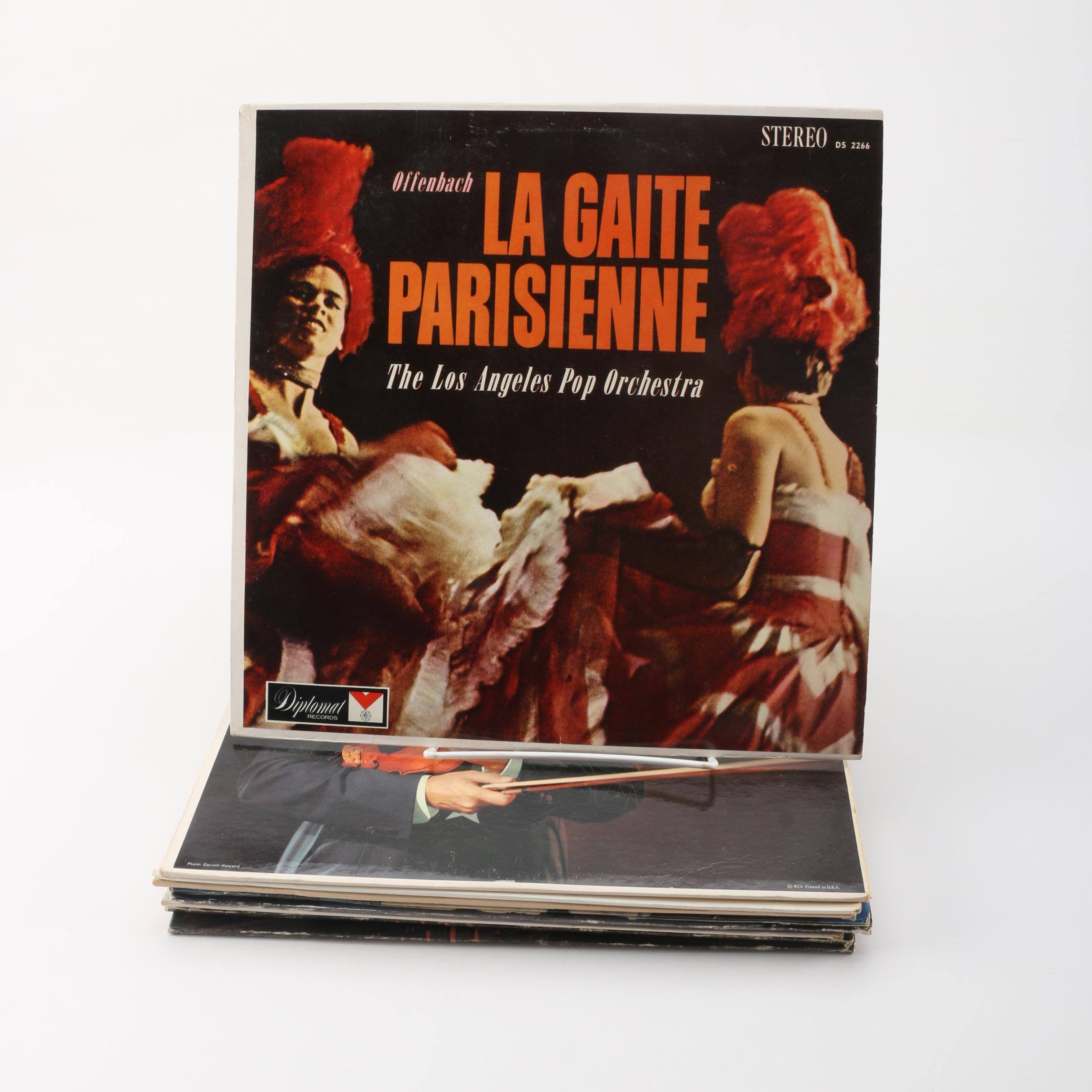 """""""La Gaite Parisienne"""", """"The Soul of Spain"""" and Other Assorted Record Albums"""