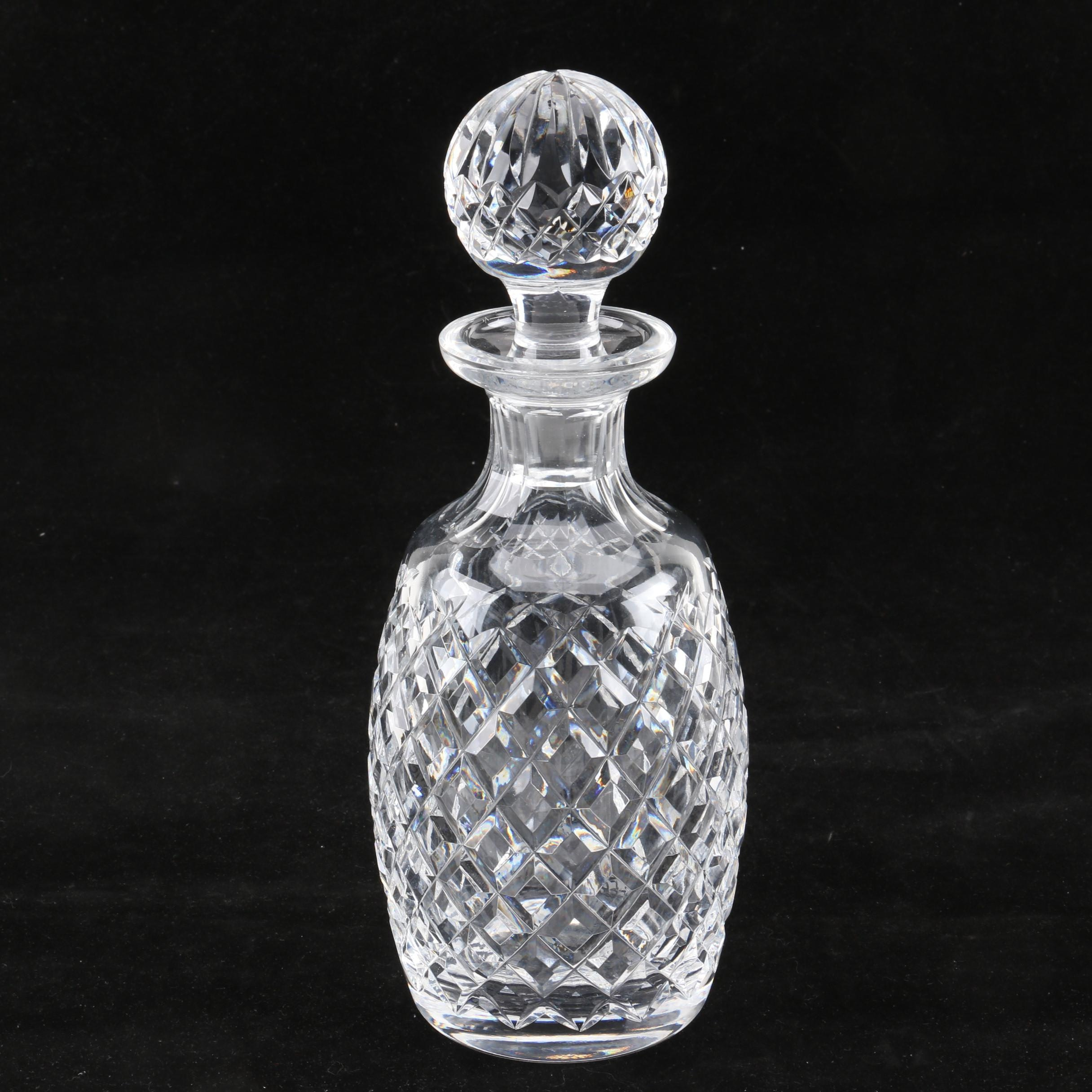 """Waterford Crystal """"Alana"""" Decanter"""