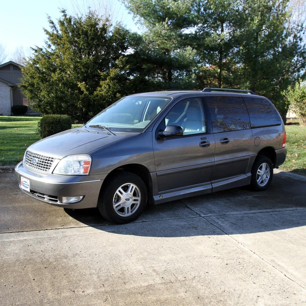 2006 Ford Freestar SEL VMI Wheelchair Ramp Conversion Minivan