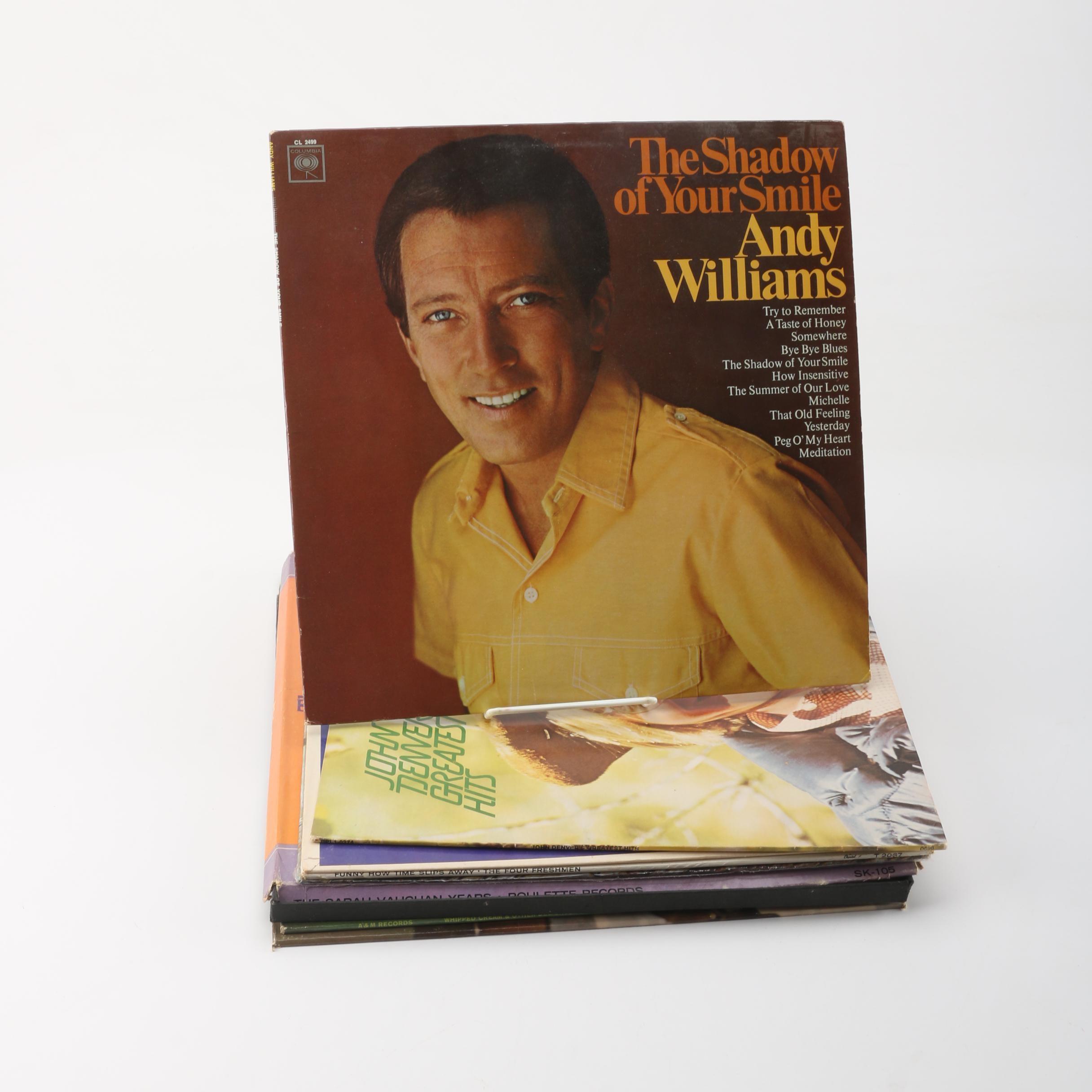 Henry Mancini, John Denver, Tijuana Brass and Other Record Albums