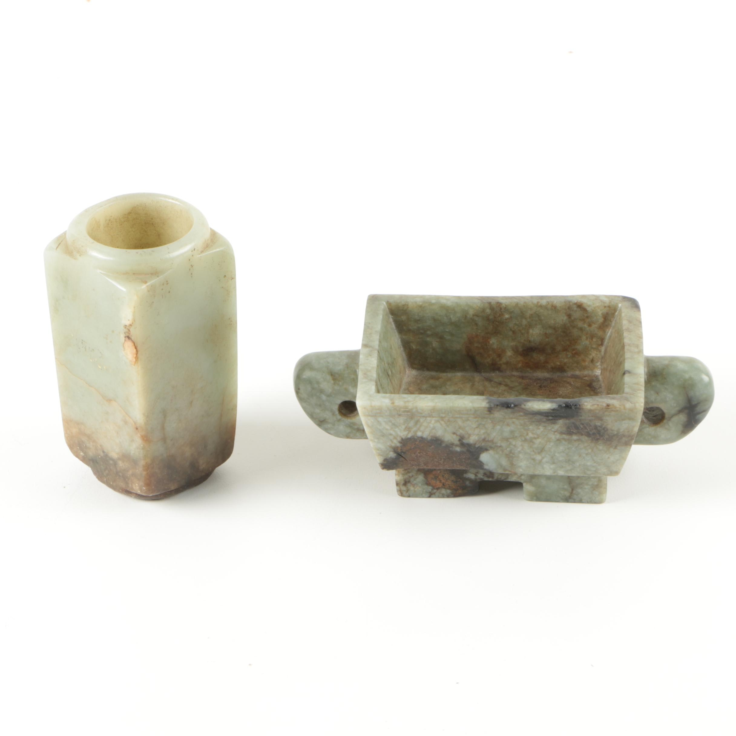 Soapstone Desk Accessories