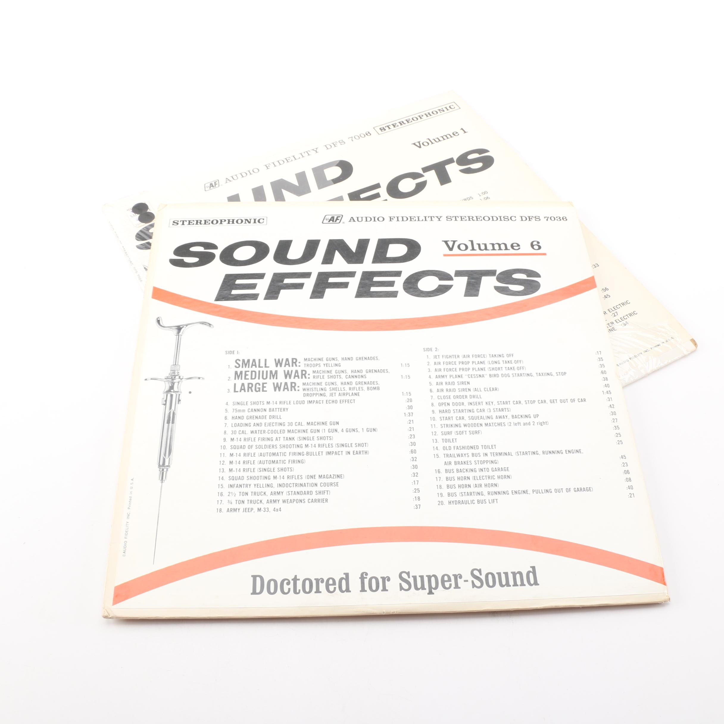 """Two """"Sound Effects"""" LPs"""