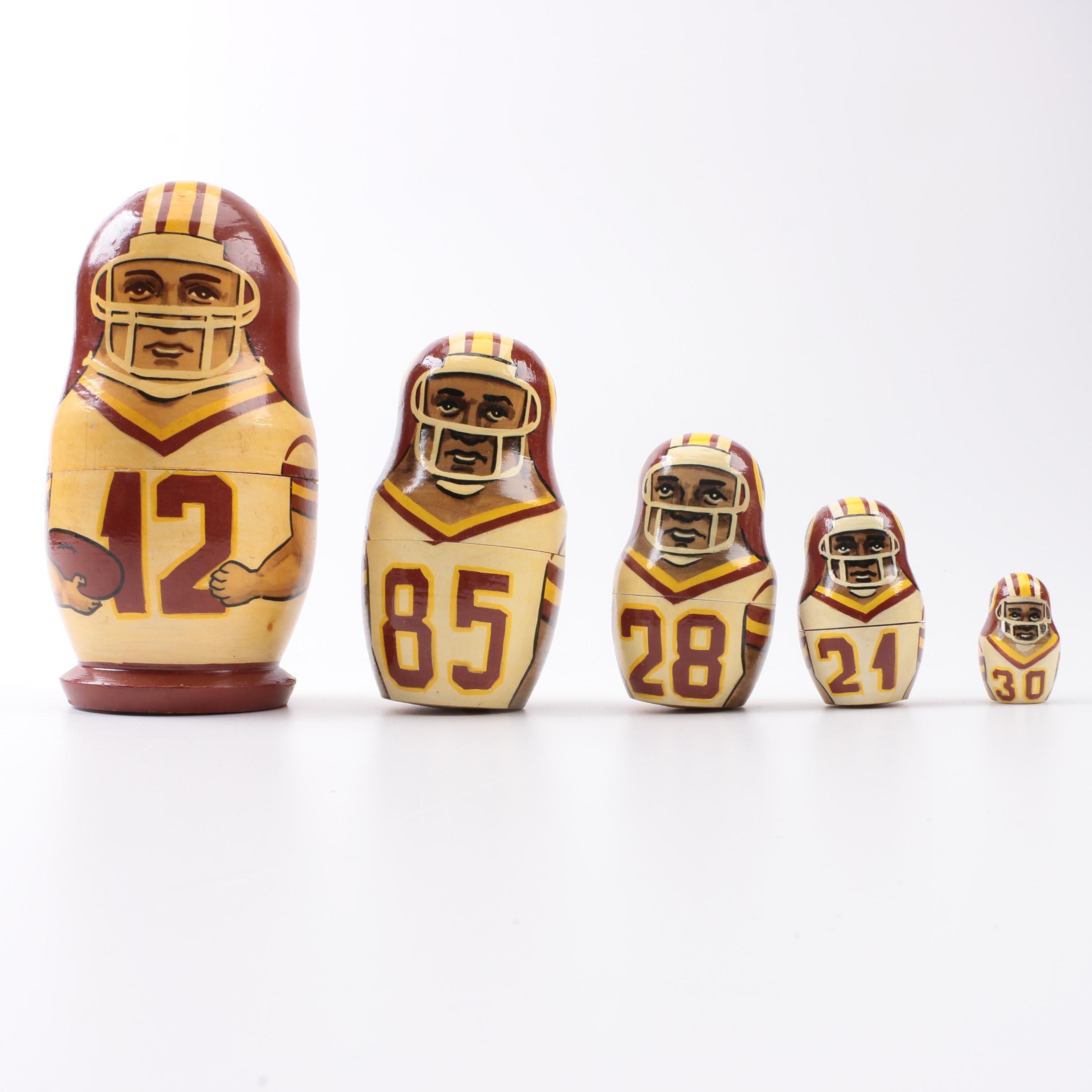 Washington Redskins Matryoshka Doll