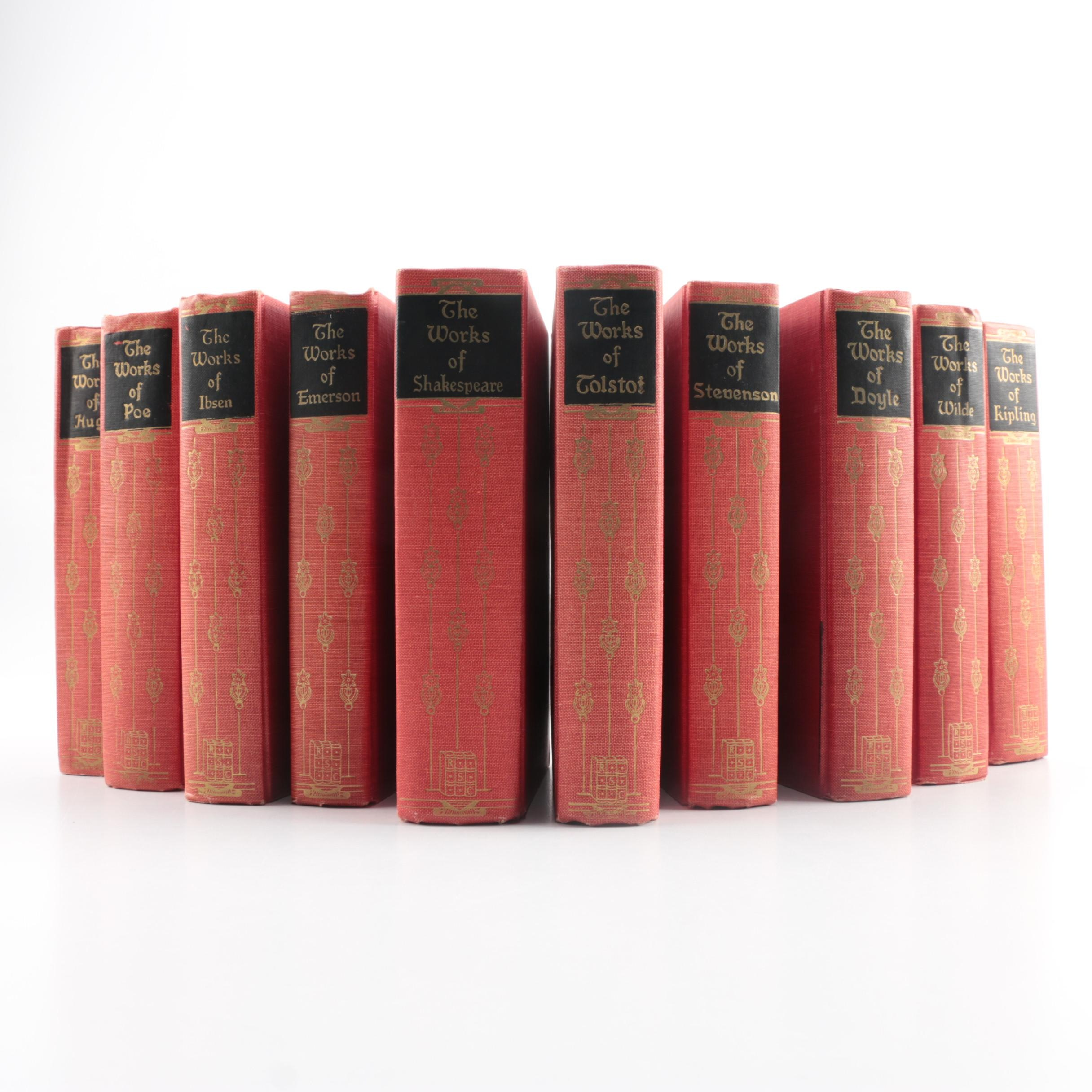 """Black's Readers Service Company """"The Works of"""" Book Set"""