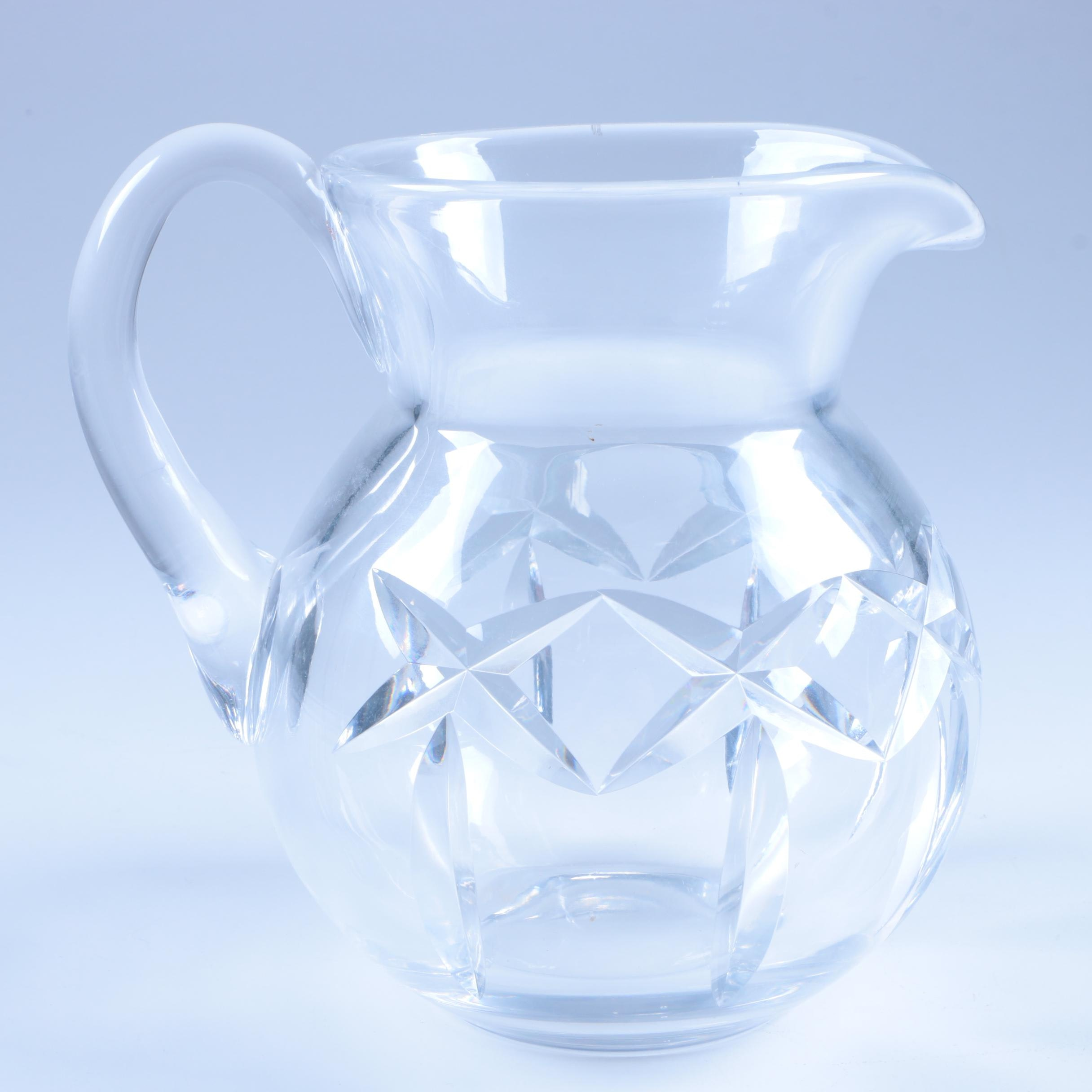 "Waterford Crystal ""Kerry"" Pitcher"
