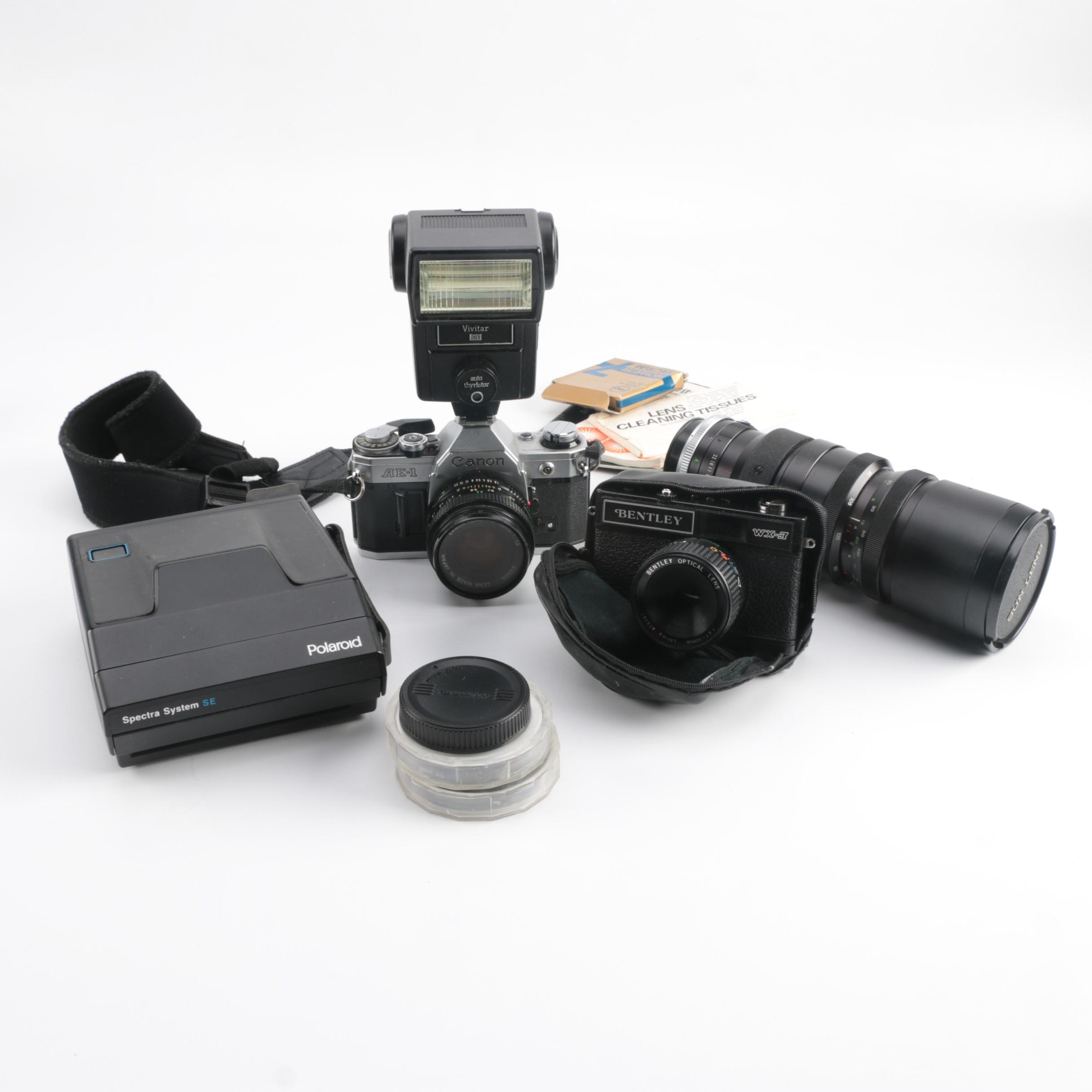 Cameras, Sun Lens and Accessories