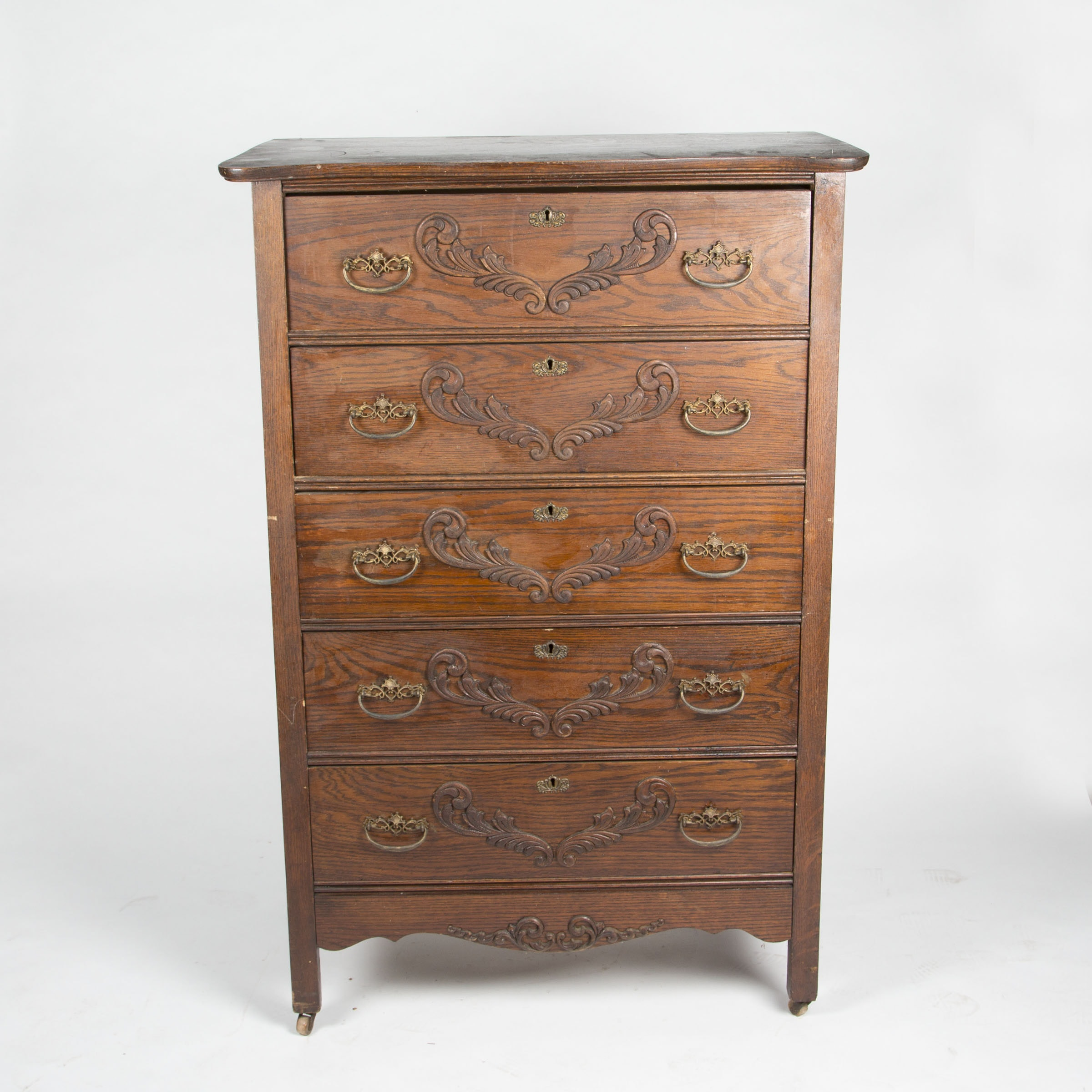 Antique Chest of Drawers by Asa Van-Kleeck