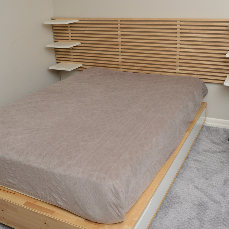 Ikea Mandal Full Size Bed With Storage Ebth,Single Story 5 Bedroom Bungalow House Plans