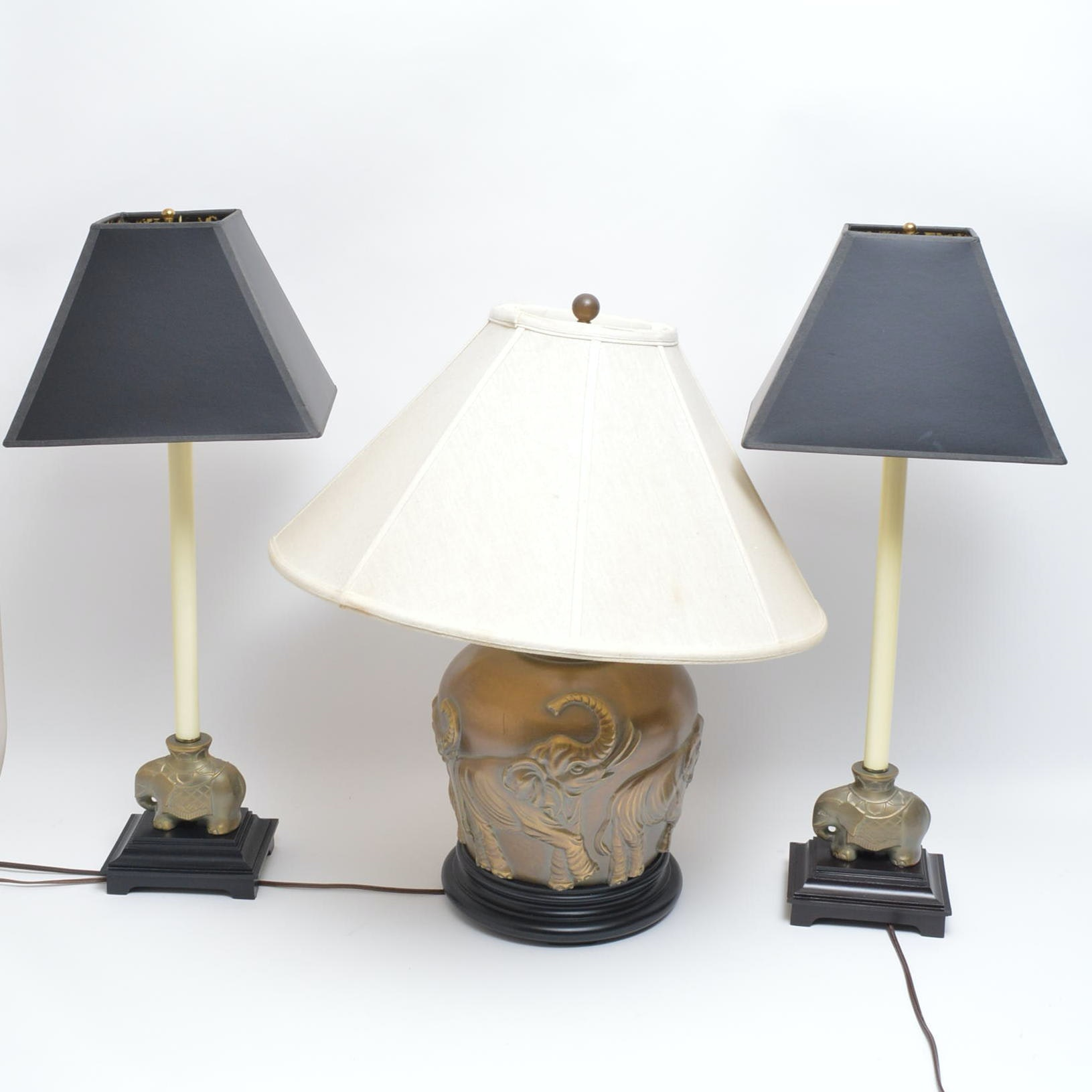 Elephant Themed Table Lamps ...