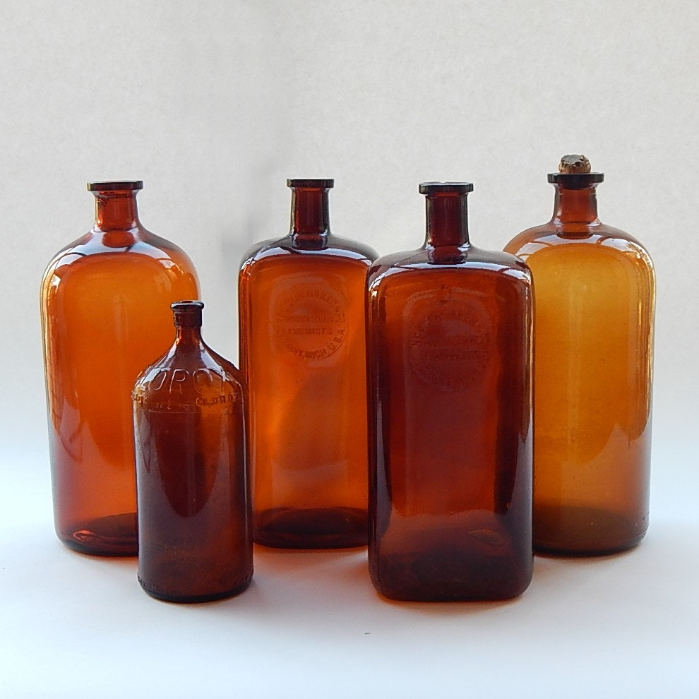 Amber Bottle Collection