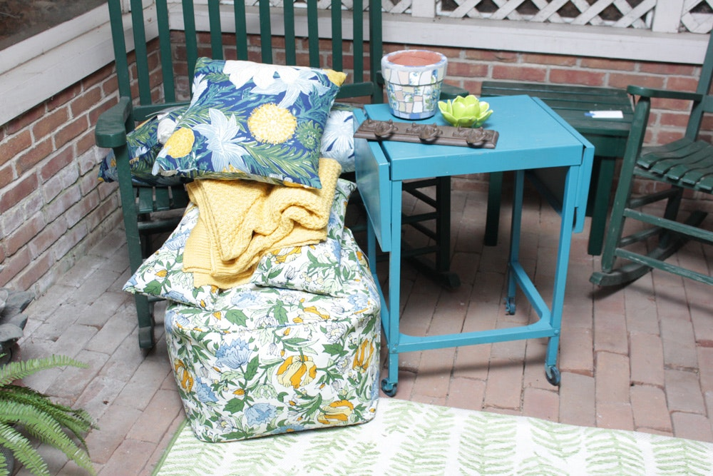 Patio Accent Furniture and Decor