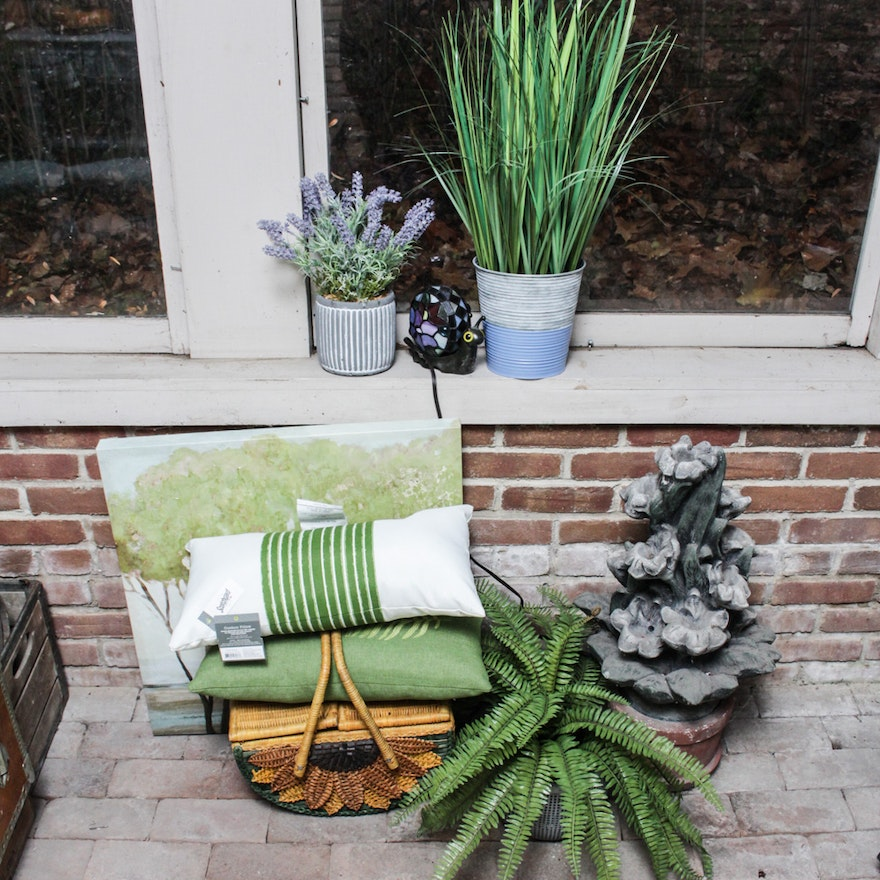 Nature Inspired Patio And Home Decor Ebth