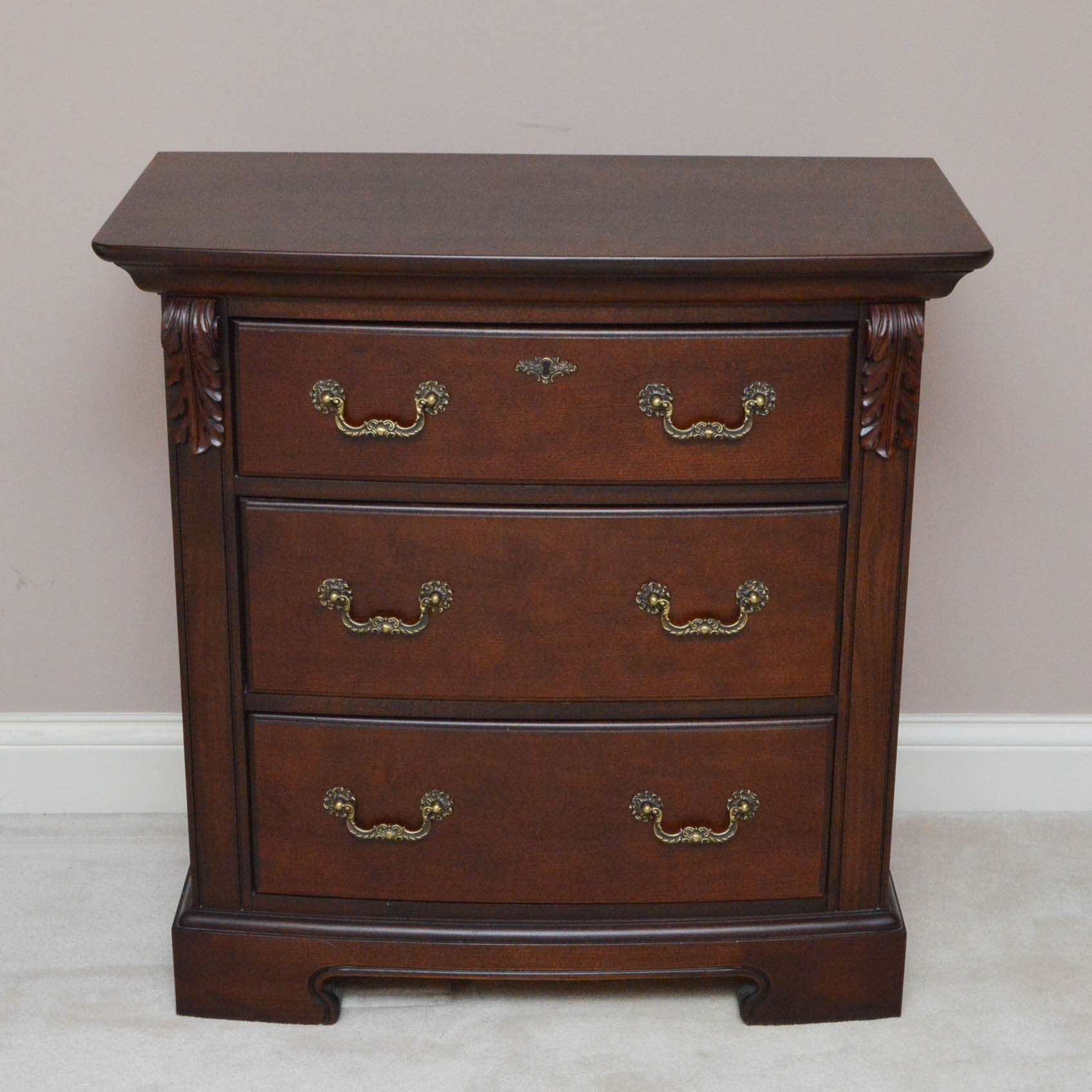 Mahogany Nightstand by Thompsonville