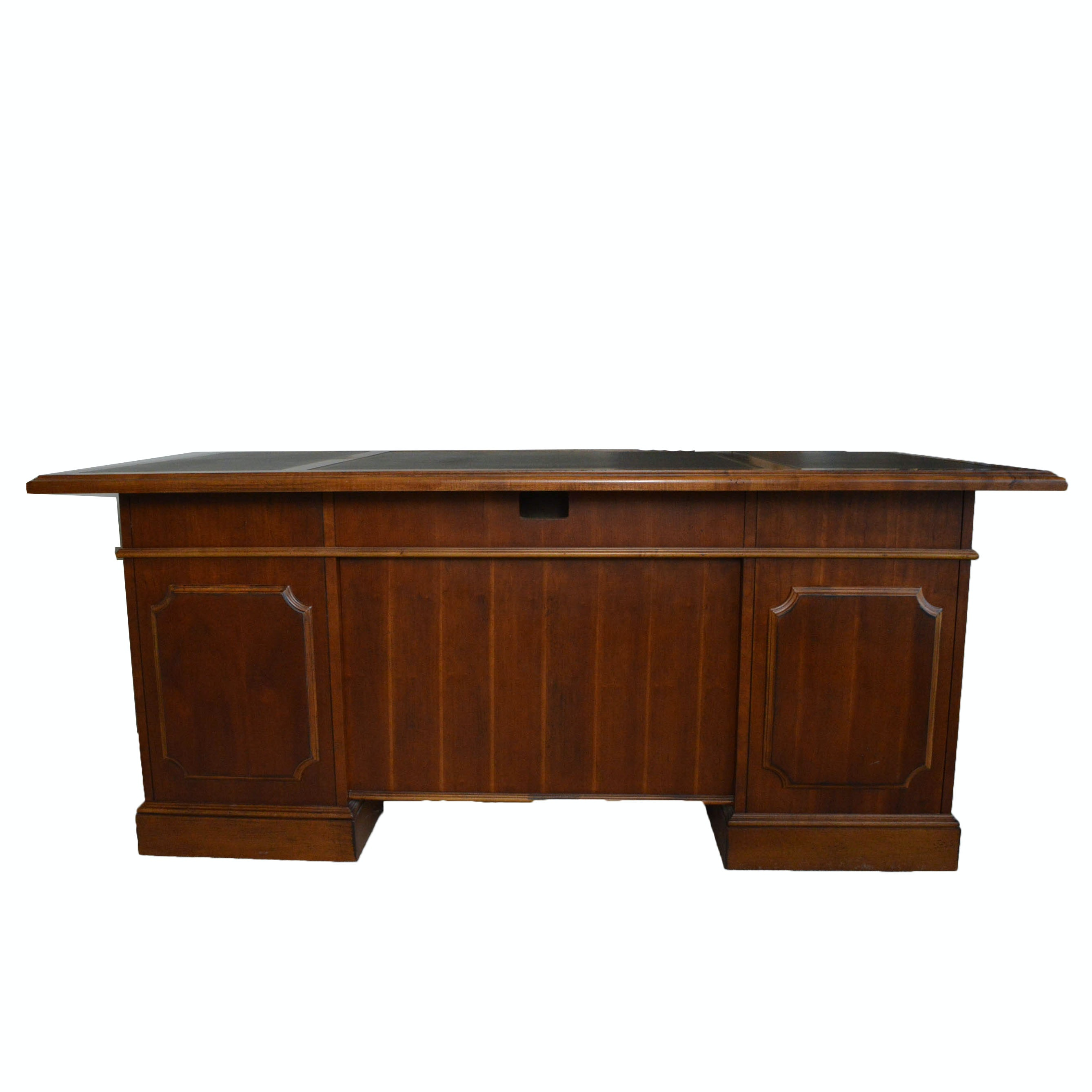 Cherry Executive Desk by Hooker