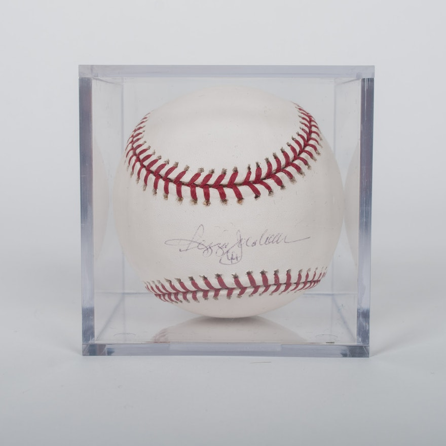 7837dc6ec74 Reggie Jackson Signed Baseball   EBTH