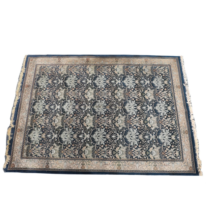 """Machine Made """" Lisbon Sapphire """" Area Rug By Antique"""
