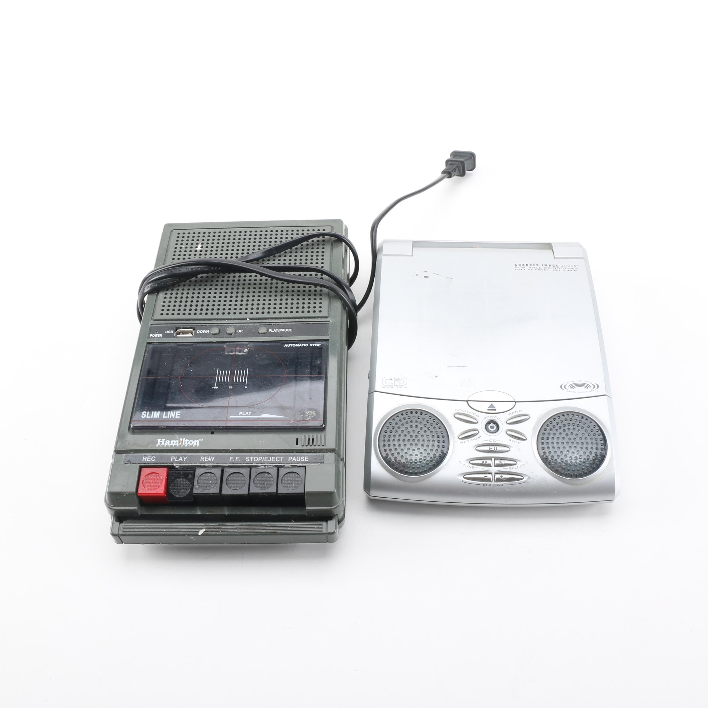 CD Player And Cassette Player