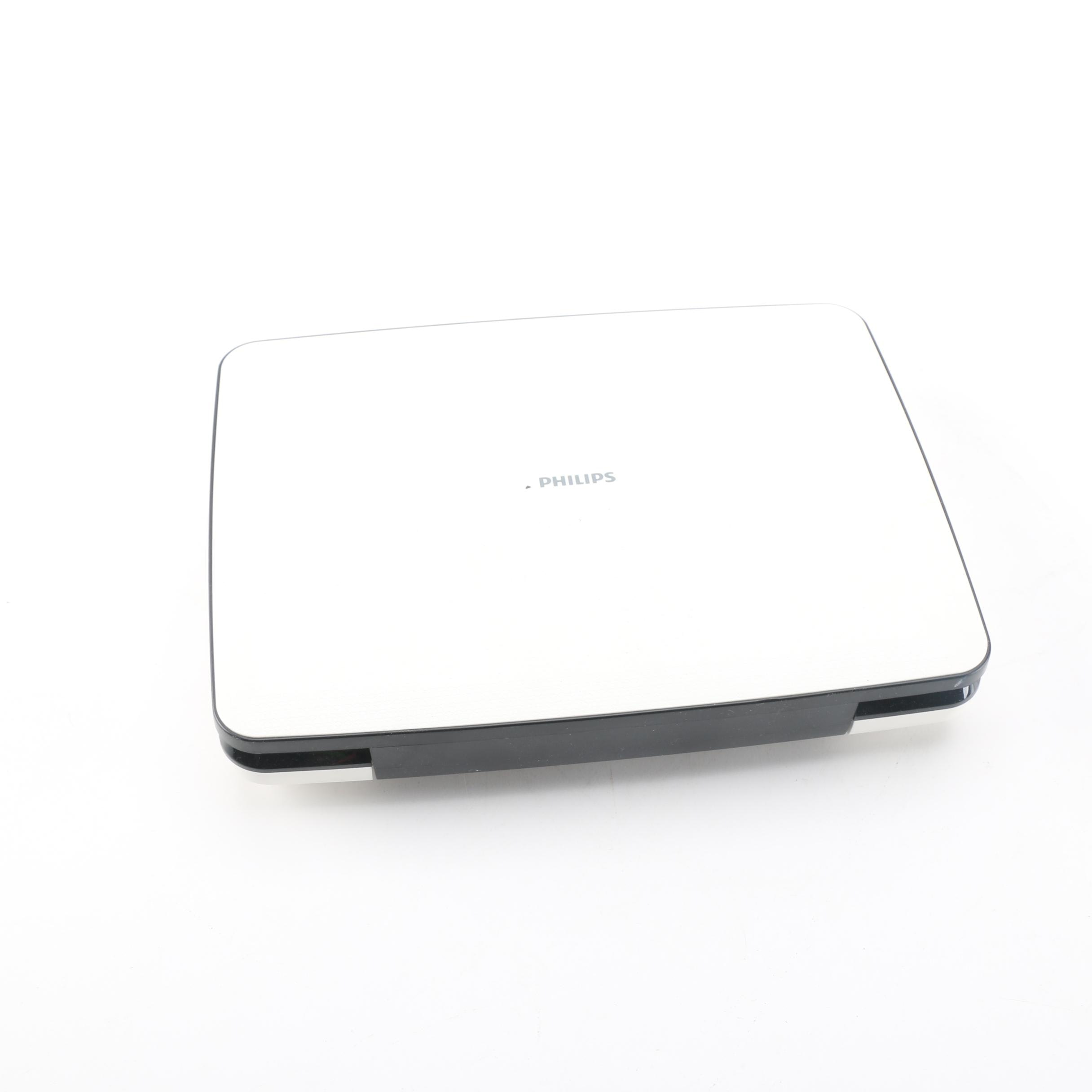 """Philips 9"""" LCD Portable DVD Player"""