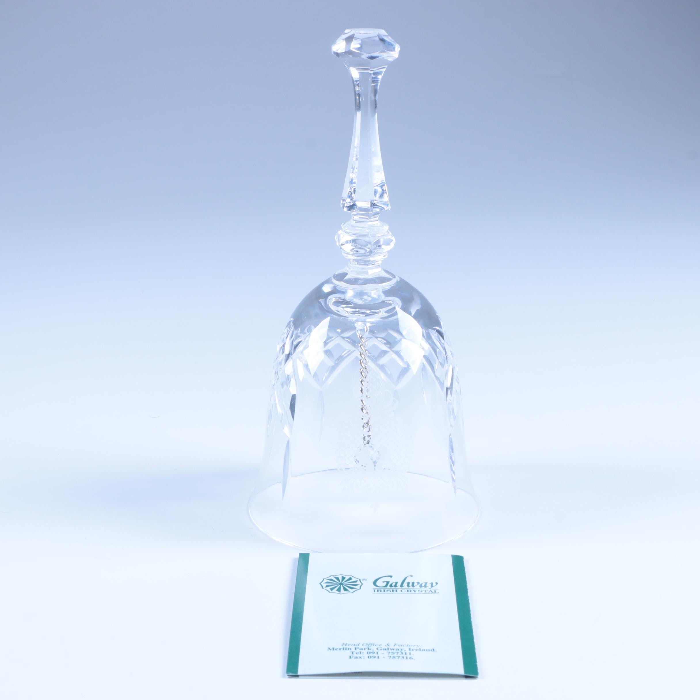 Galway Irish Crystal Bell