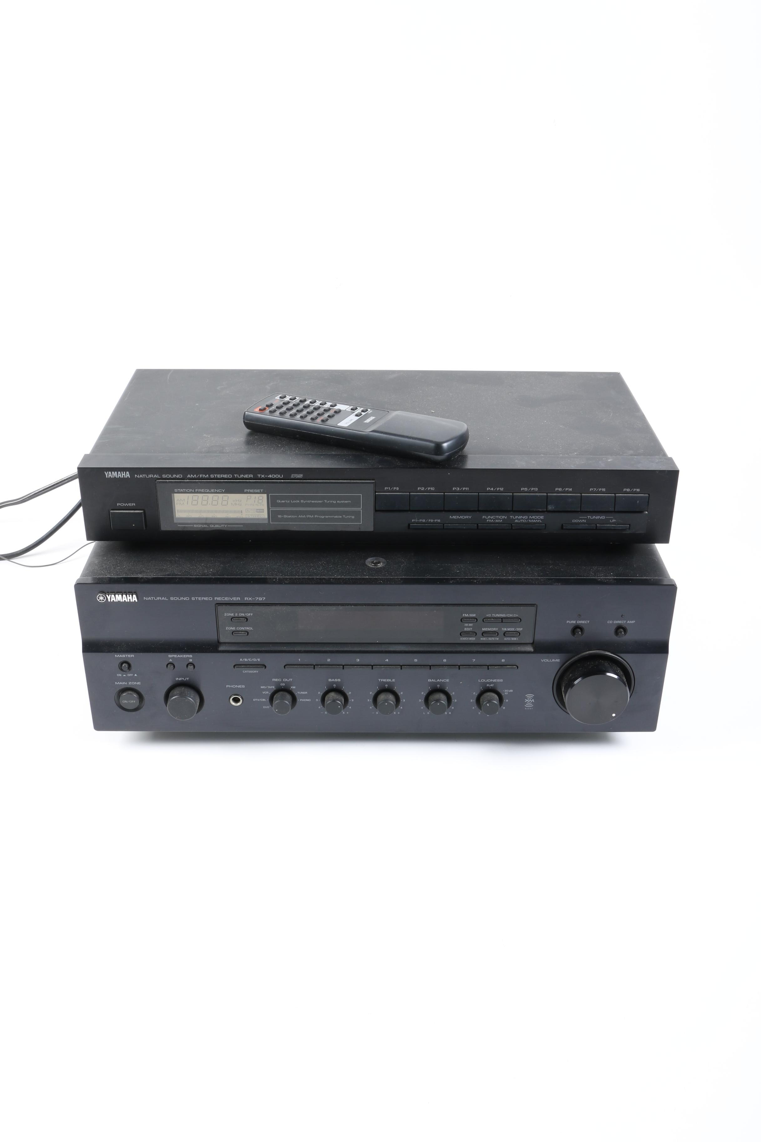 Yamaha Tuner and Receiver