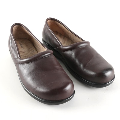112375e67373 Strictly Comfort Brown Leather Shoes