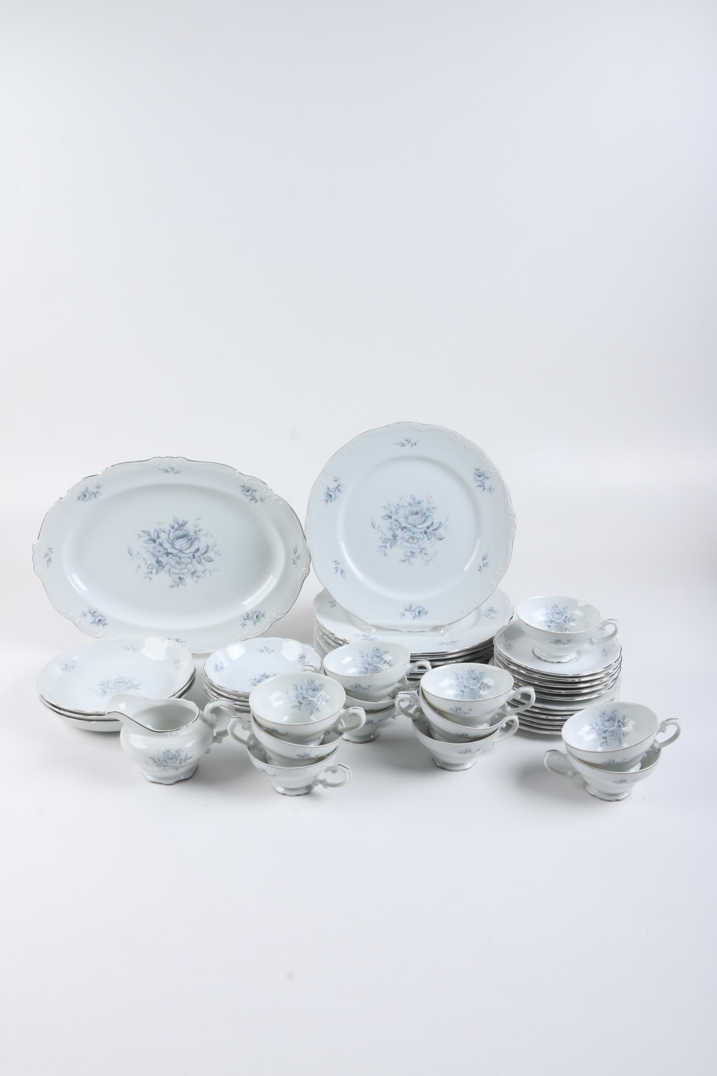 "Yamaka ""Royal Rose"" Porcelain Tableware"