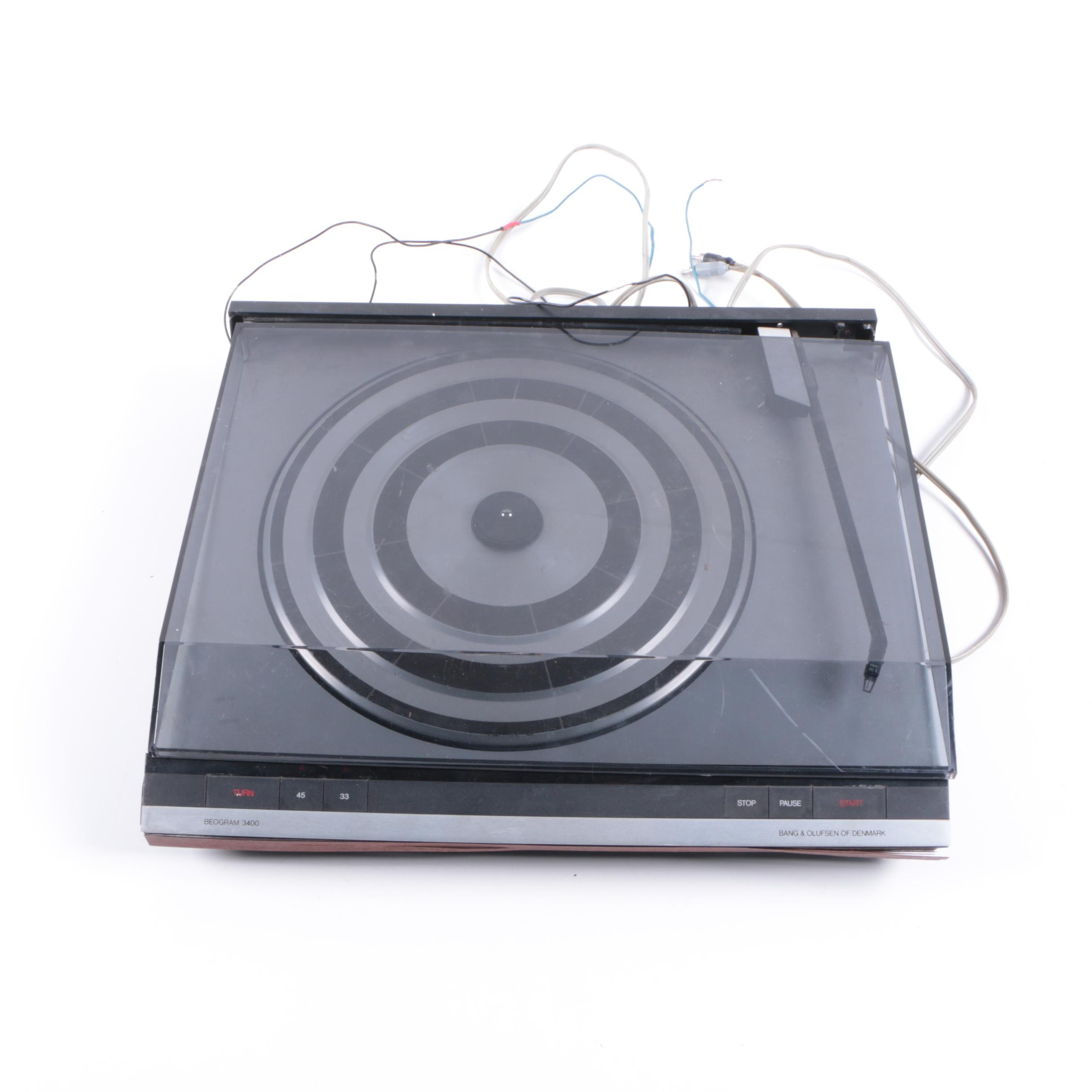Bang and Olufsen Beogram 3400 Stereo Turntable