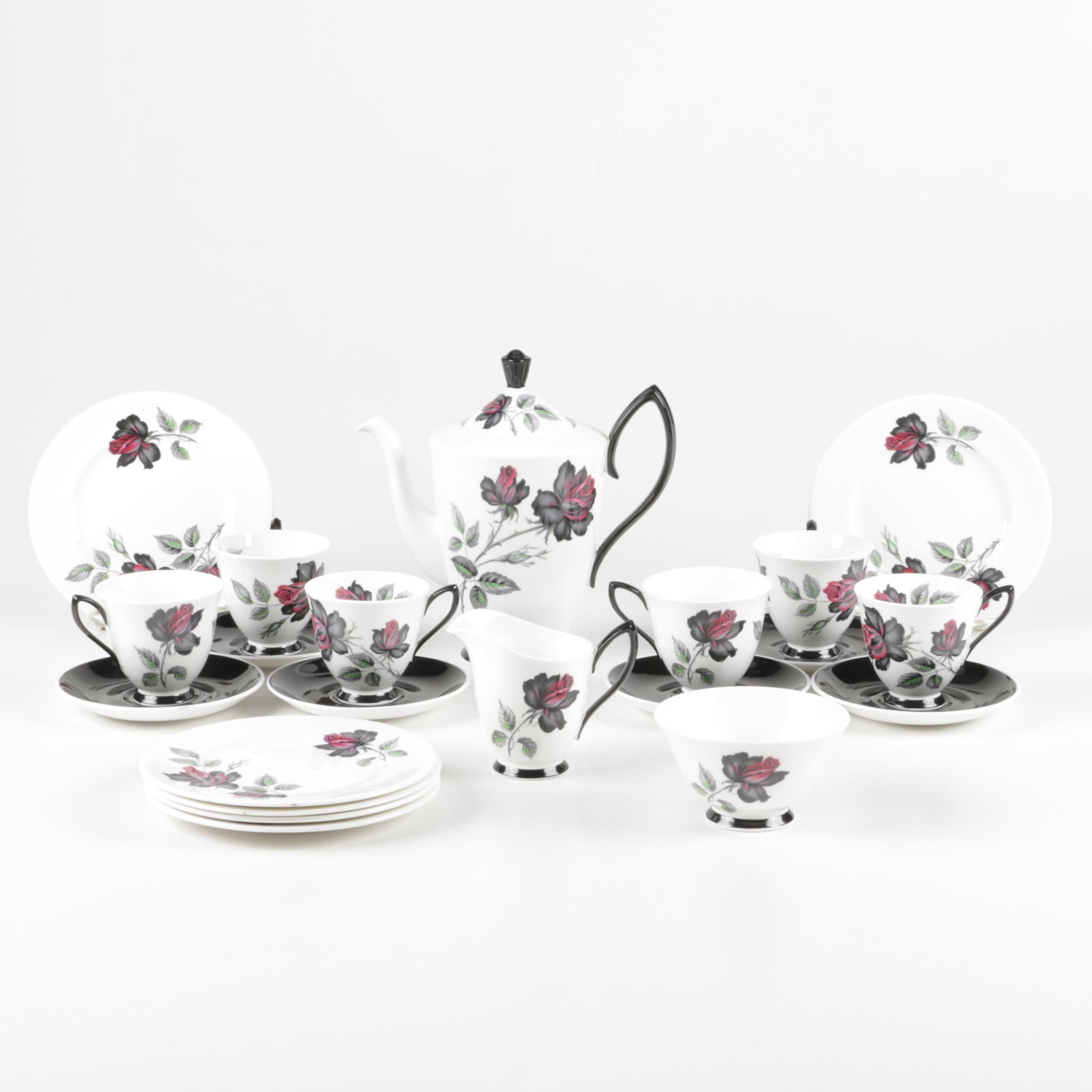 """Royal Albert """"Masquerade"""" Bone China Tableware"""
