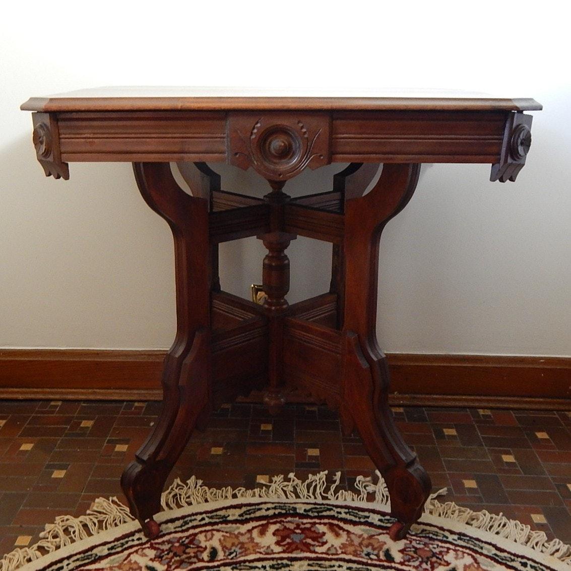 Eastlake Style Hall Table