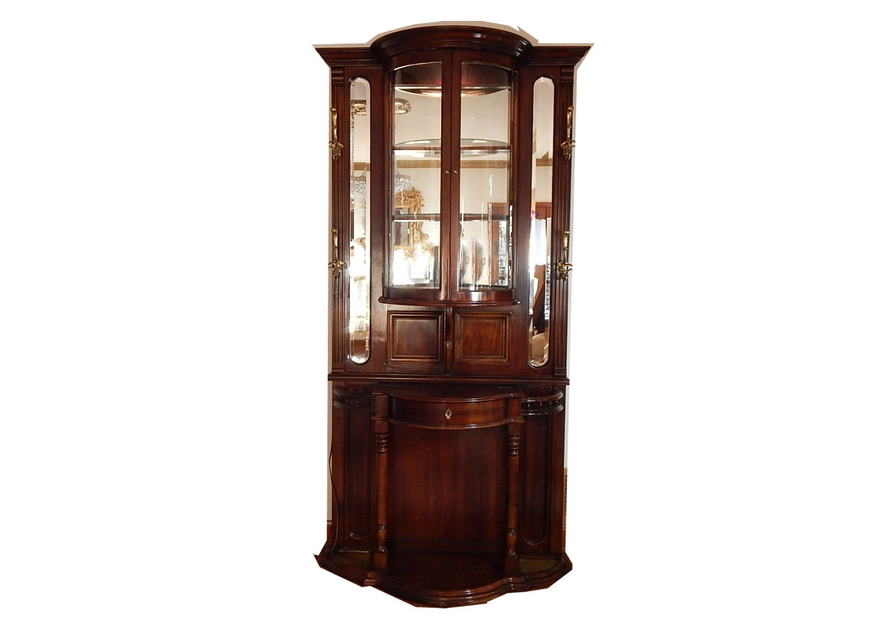 Cherry Hall Tree Display Cabinet