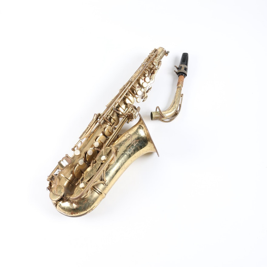 Vintage Conn Alto Saxophone