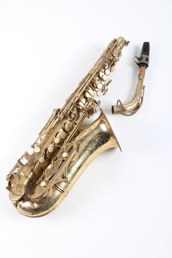 Vintage Conn New Wonder Alto Saxophone