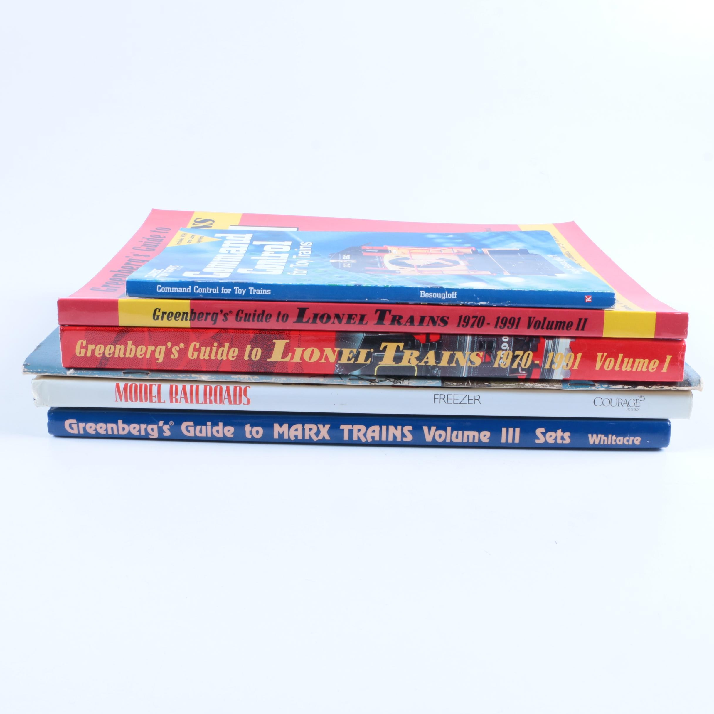 Assorted Books on Model Trains