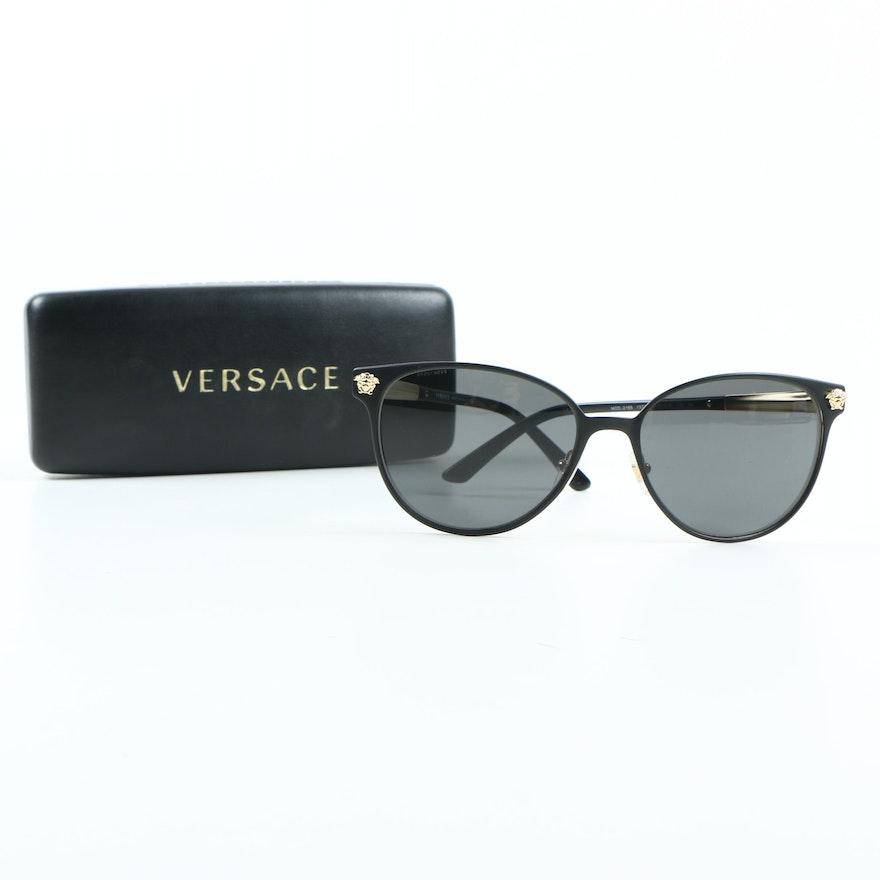 f1ac2a871de Versace 2168 Sunglasses with Case   EBTH