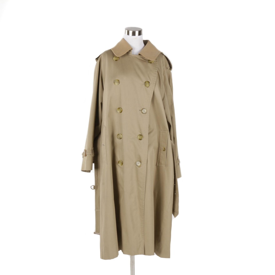 4ca72797219603 Women's Vintage Burberry Trench Coat   EBTH