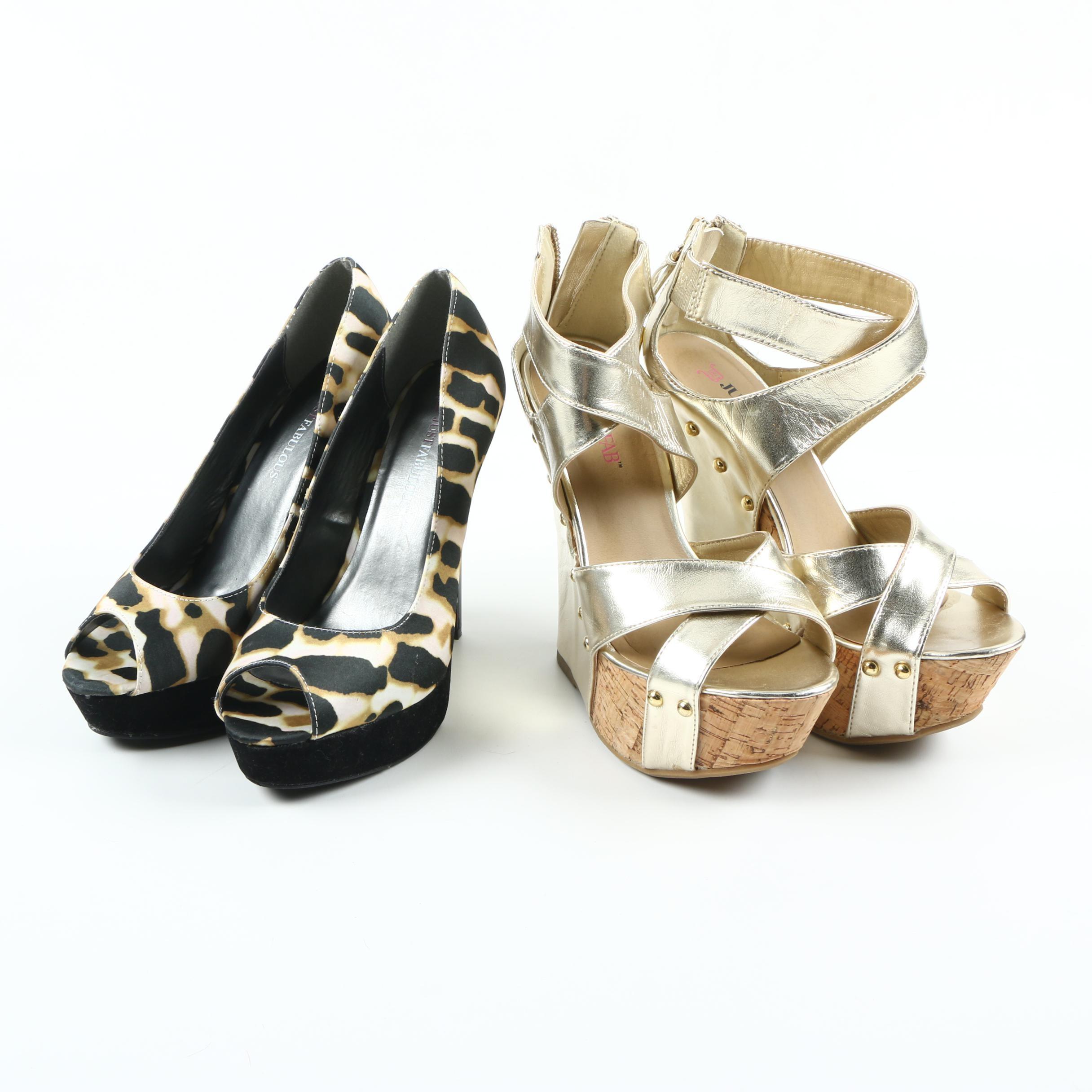 Just Fabulous Platform Shoes