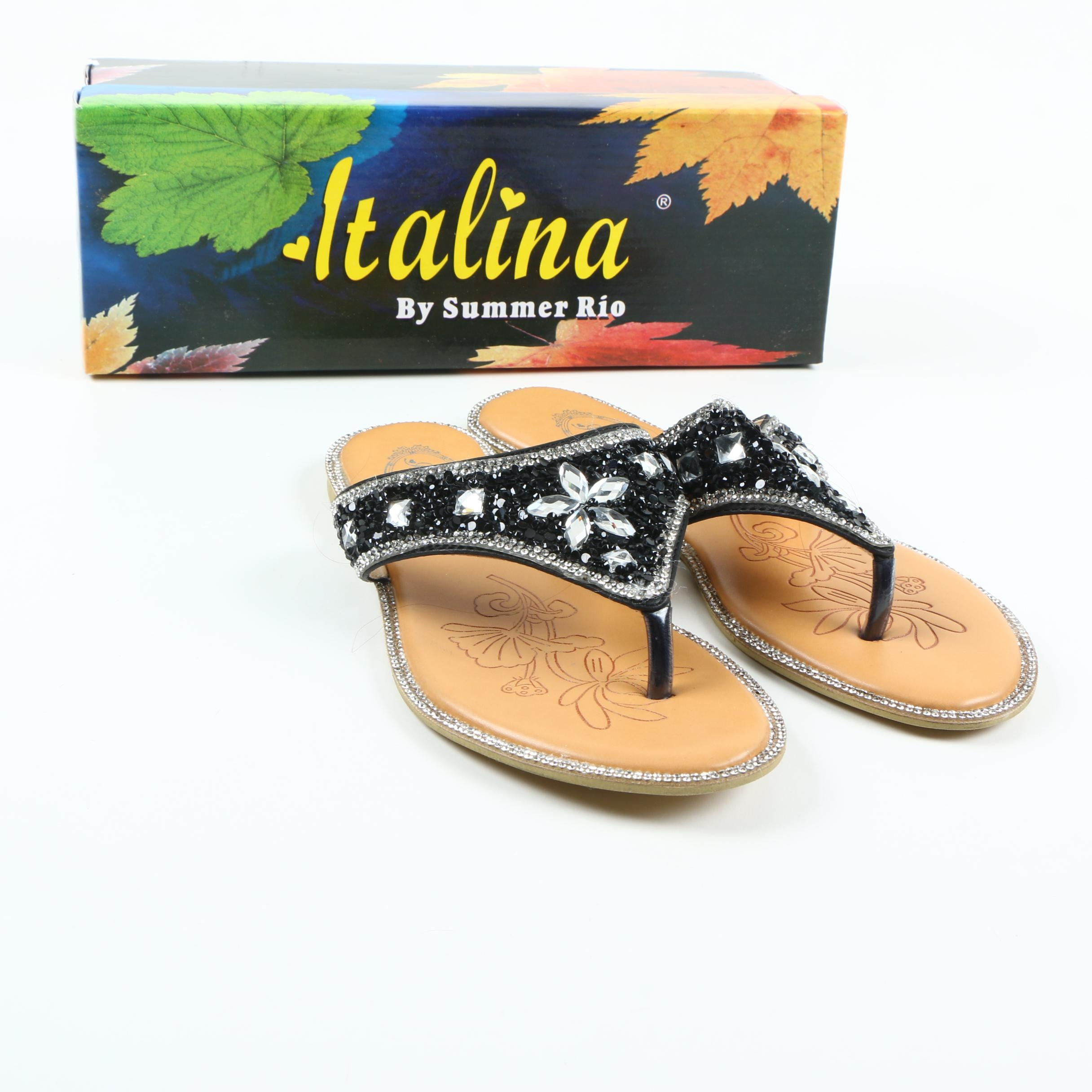 Italina by Summer Rio Bejeweled Sandals