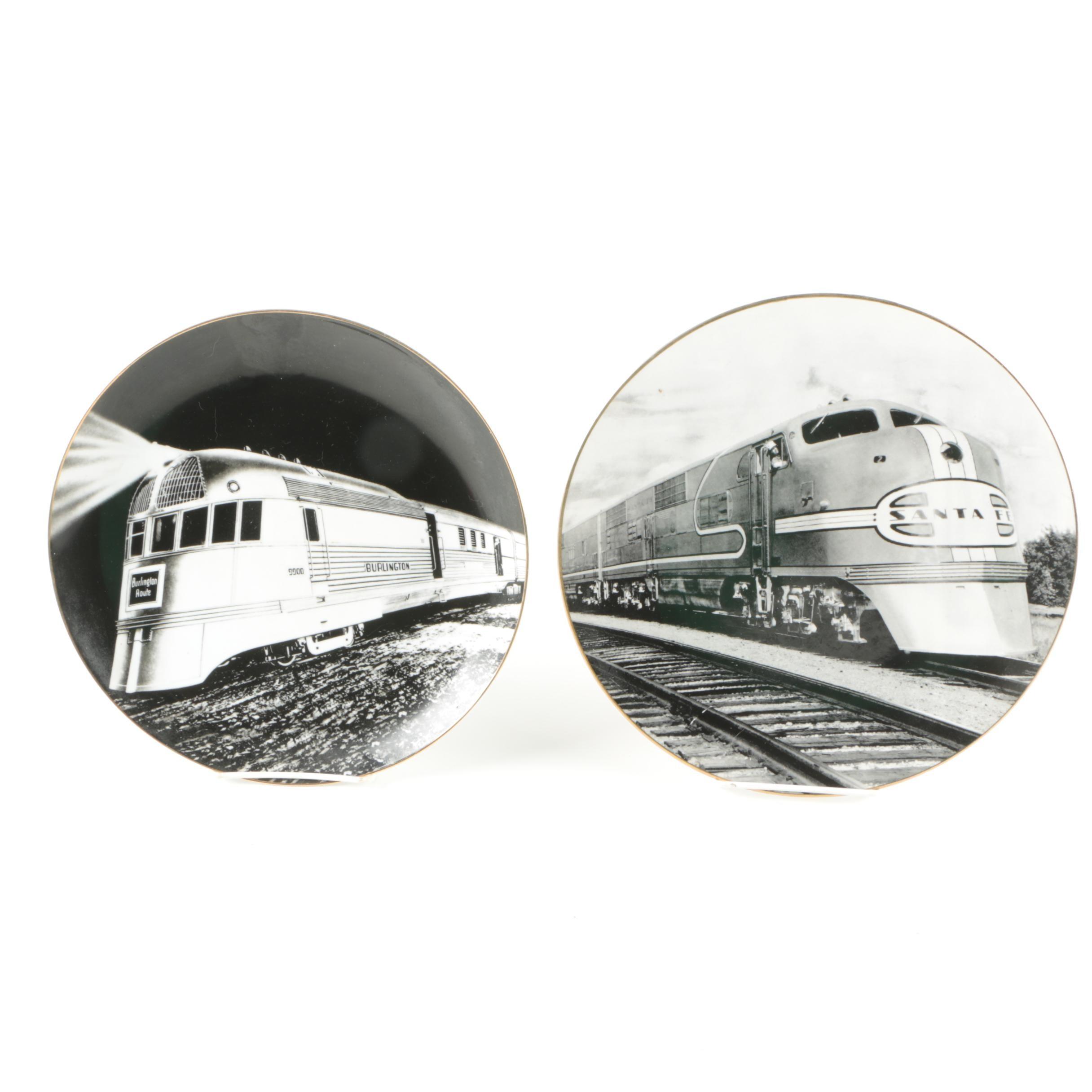BNSF Railway Porcelain Collector's Plates
