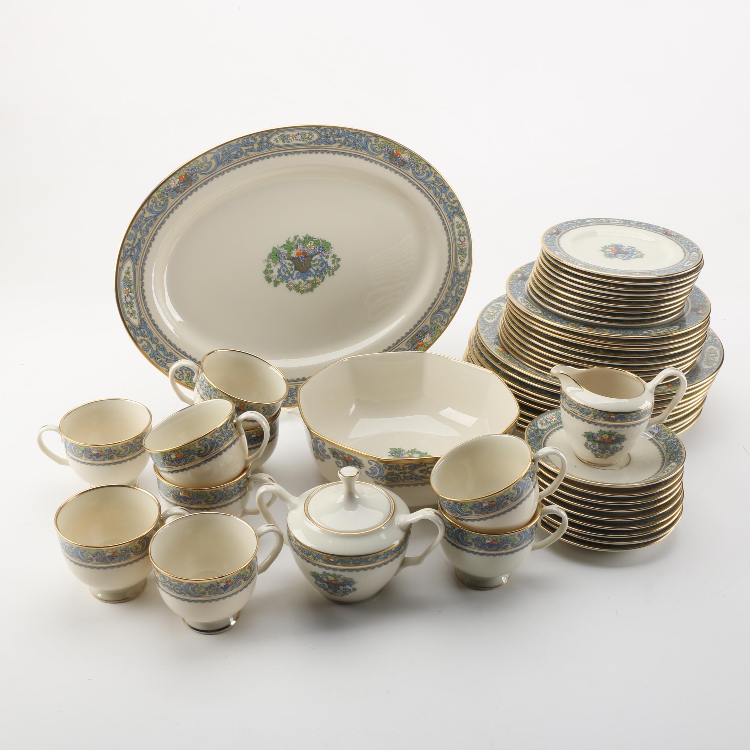 "Lenox ""Autumn"" Tableware Set"