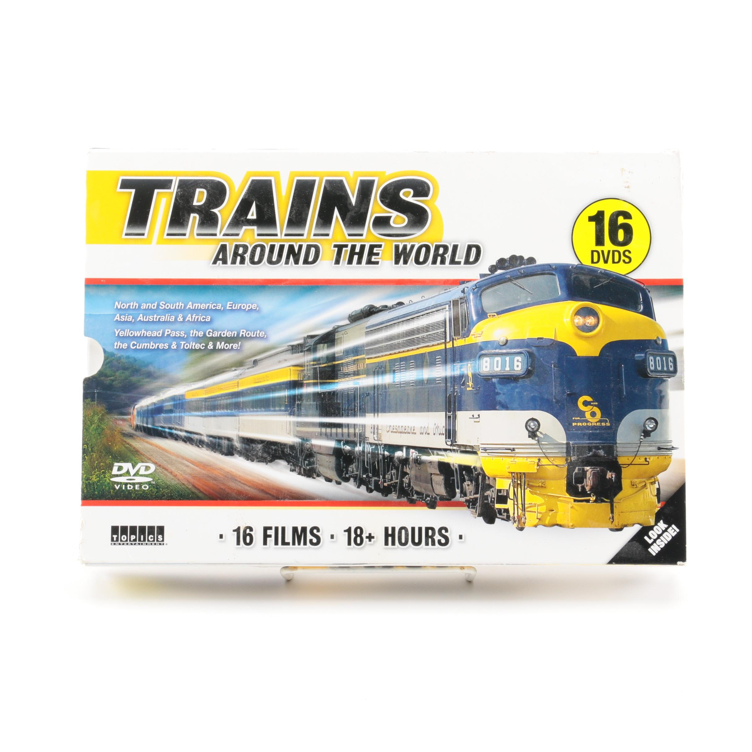 """Trains Around the World"" DVD Boxed Set"