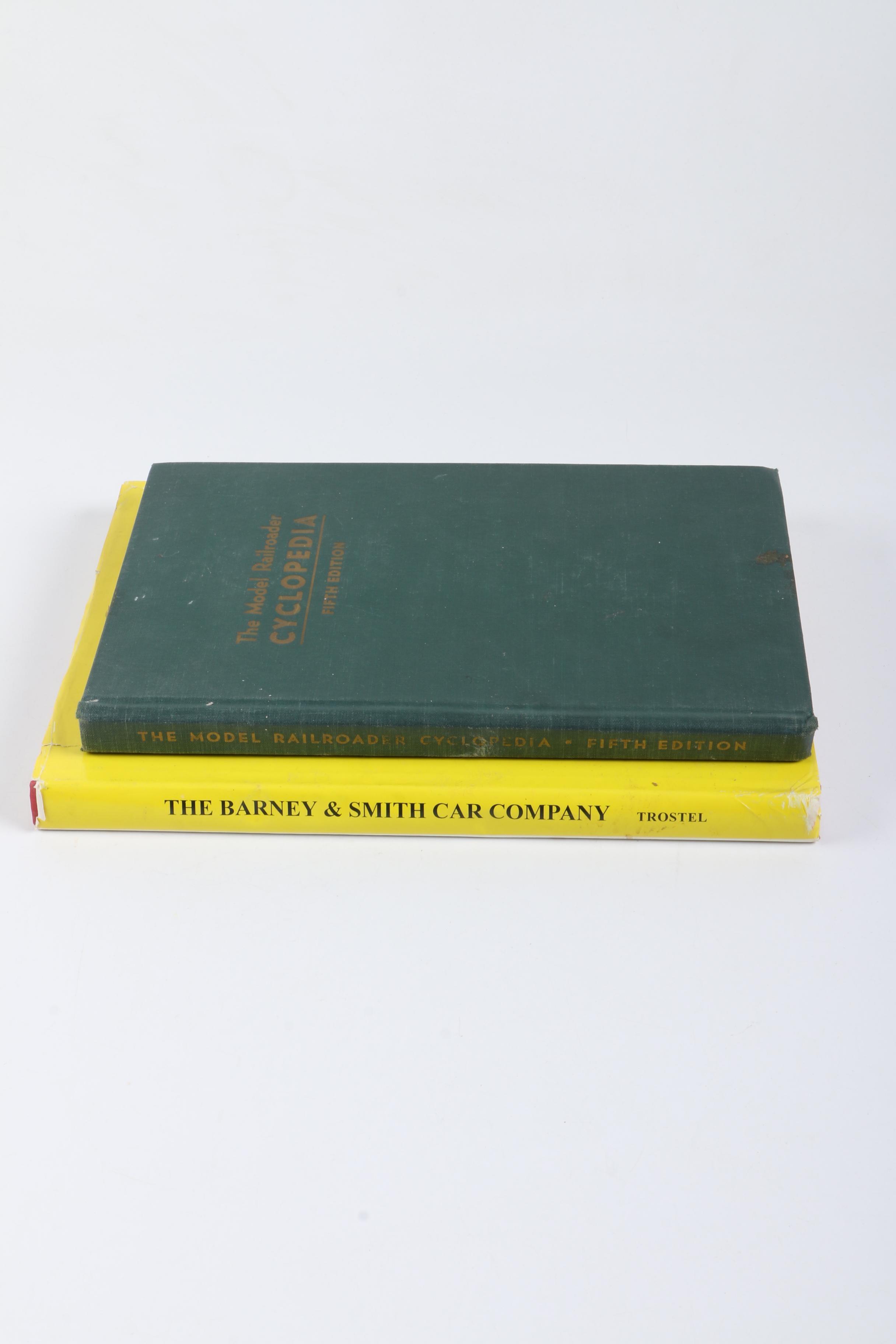 "1947 ""The Model Railroader Cyclopedia"" and 1993 ""The Barney & Smith Car Company"""