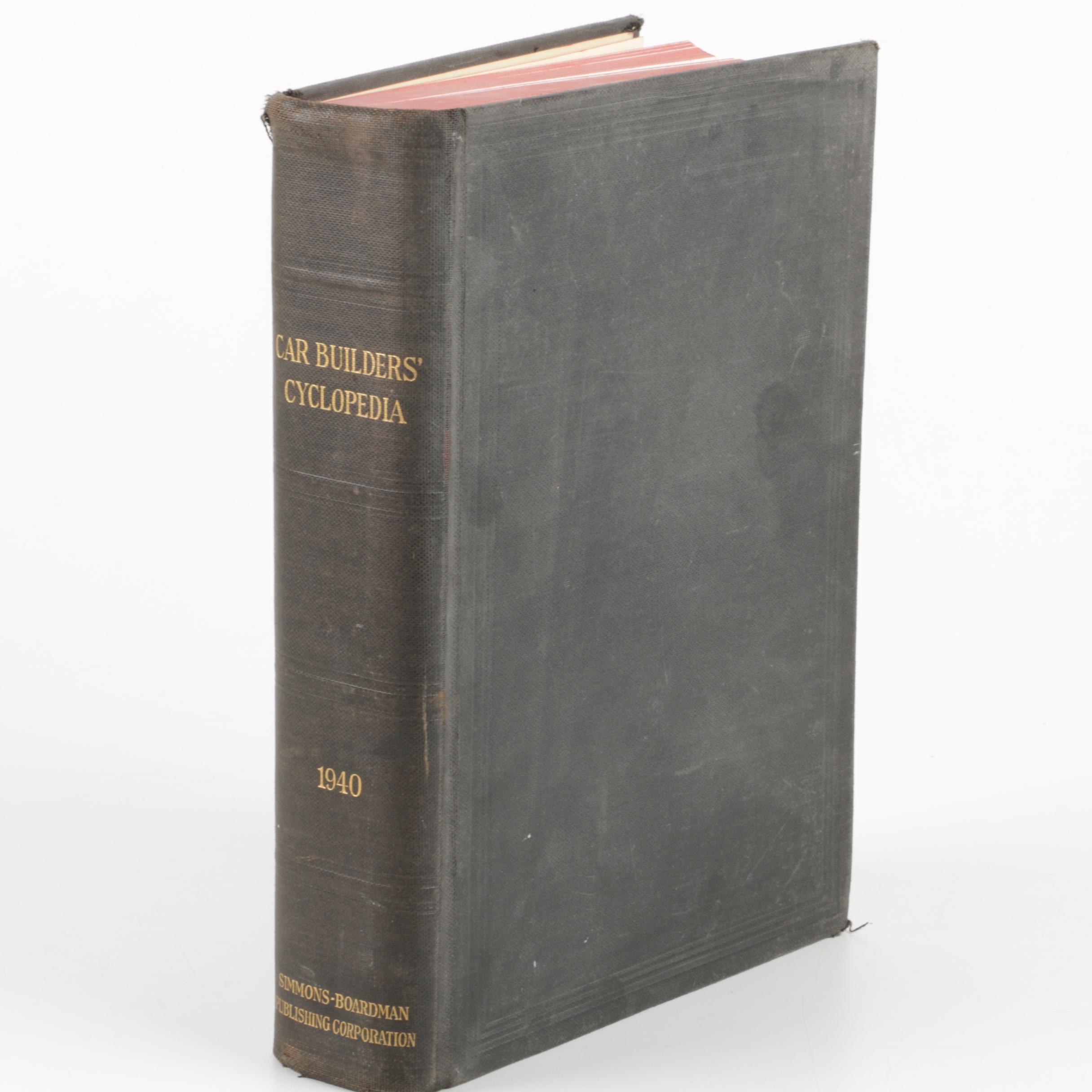 "1940 ""Car Builders' Cyclopedia of American Practice"""