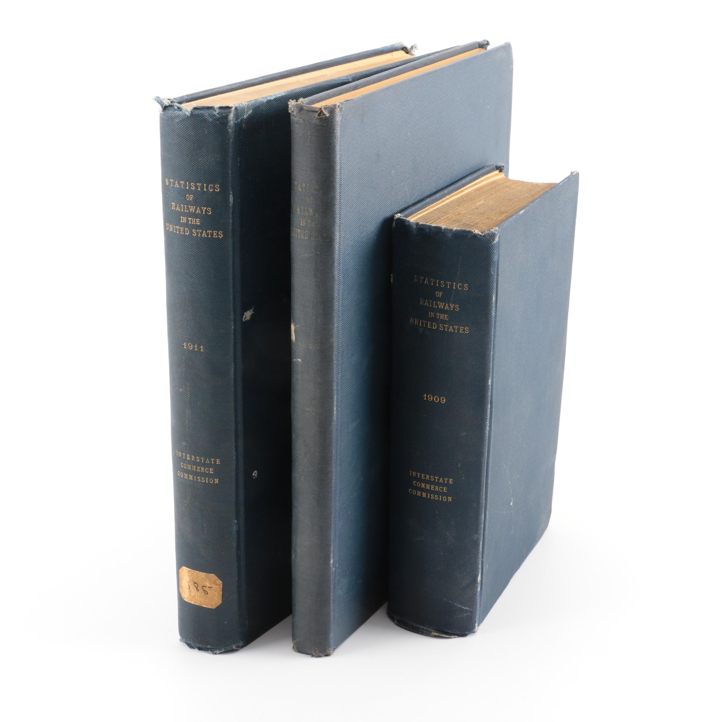 "Three-Volume ""Statistics of Railways in the United States"""