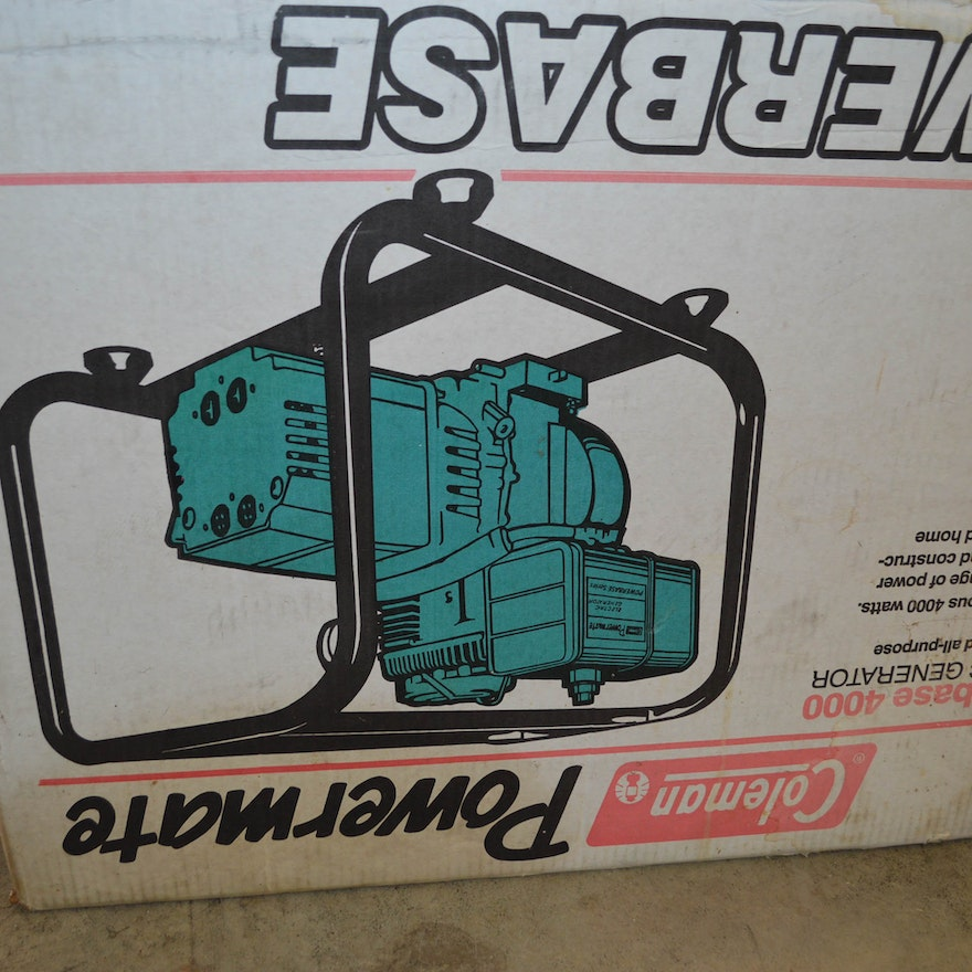 coleman powermate 3750 generator manual
