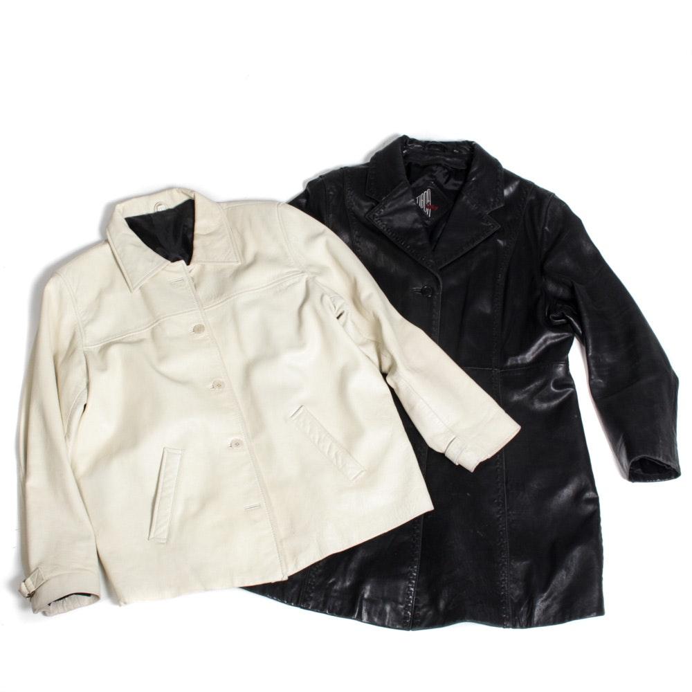Women's Leather Jackets Including Tiboa Leathers