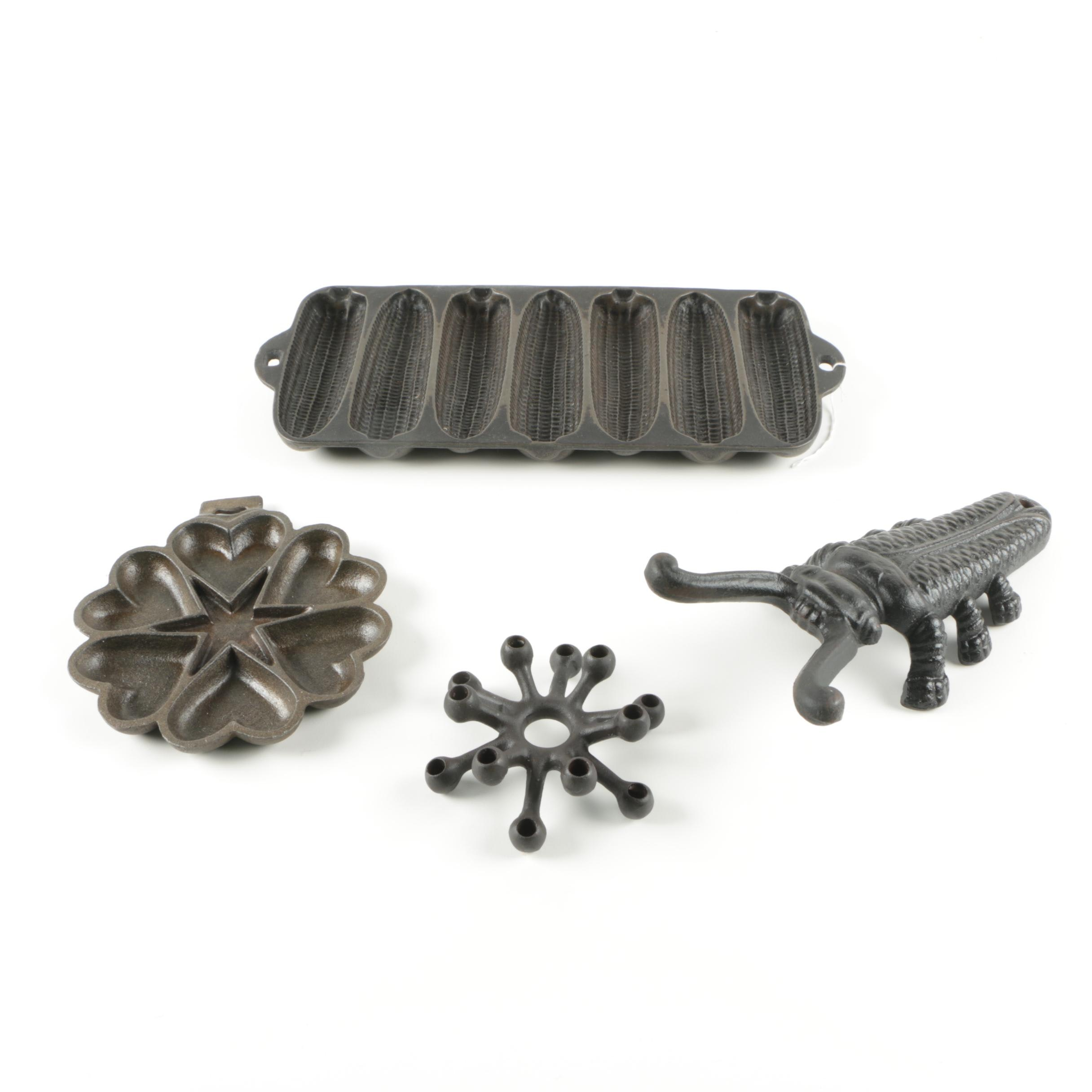 Cast Iron Bakeware and Decor