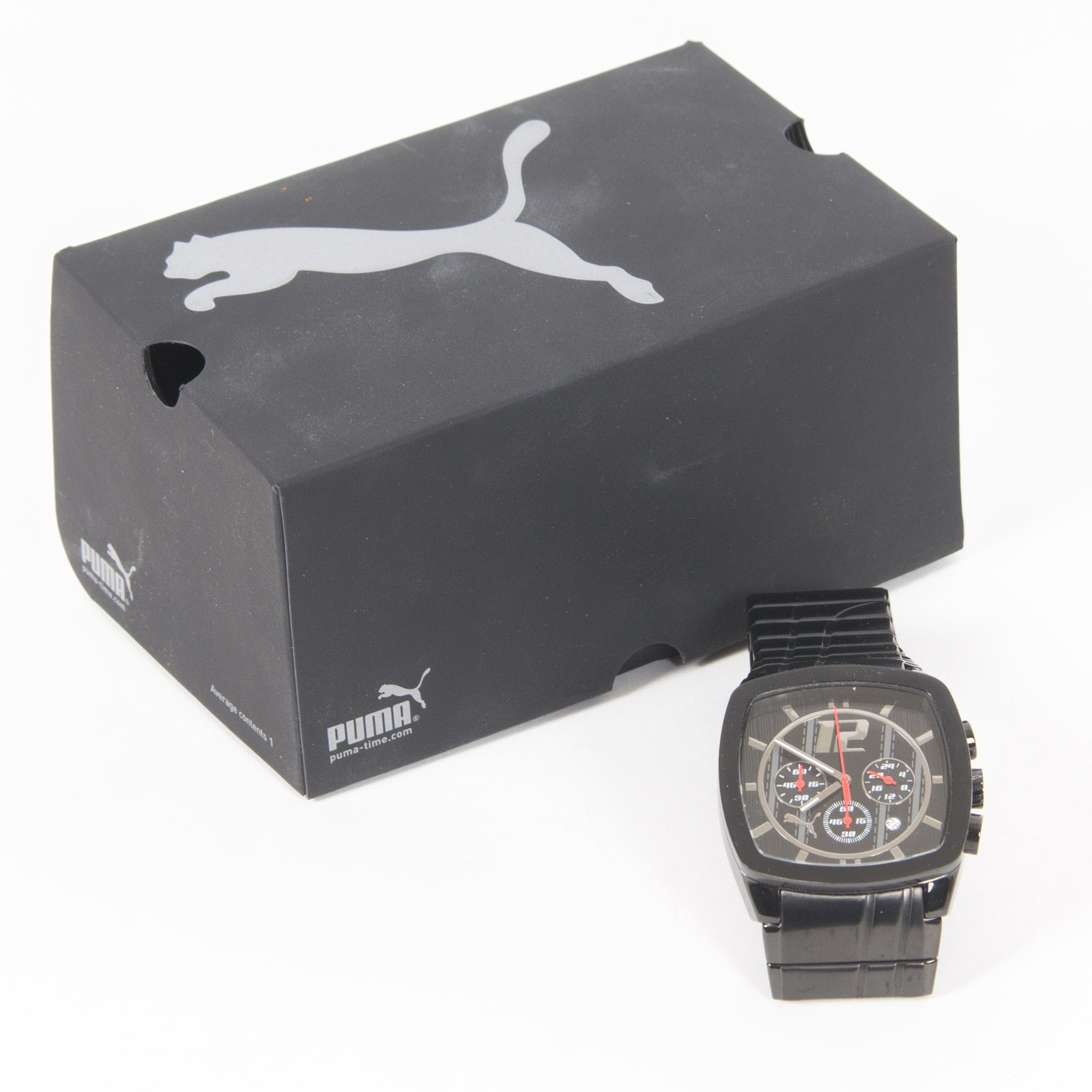 PUMA Stainless Steel Chronograph Drift Wristwatch
