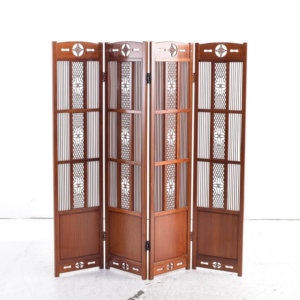 Arts and Crafts Style Room Divider
