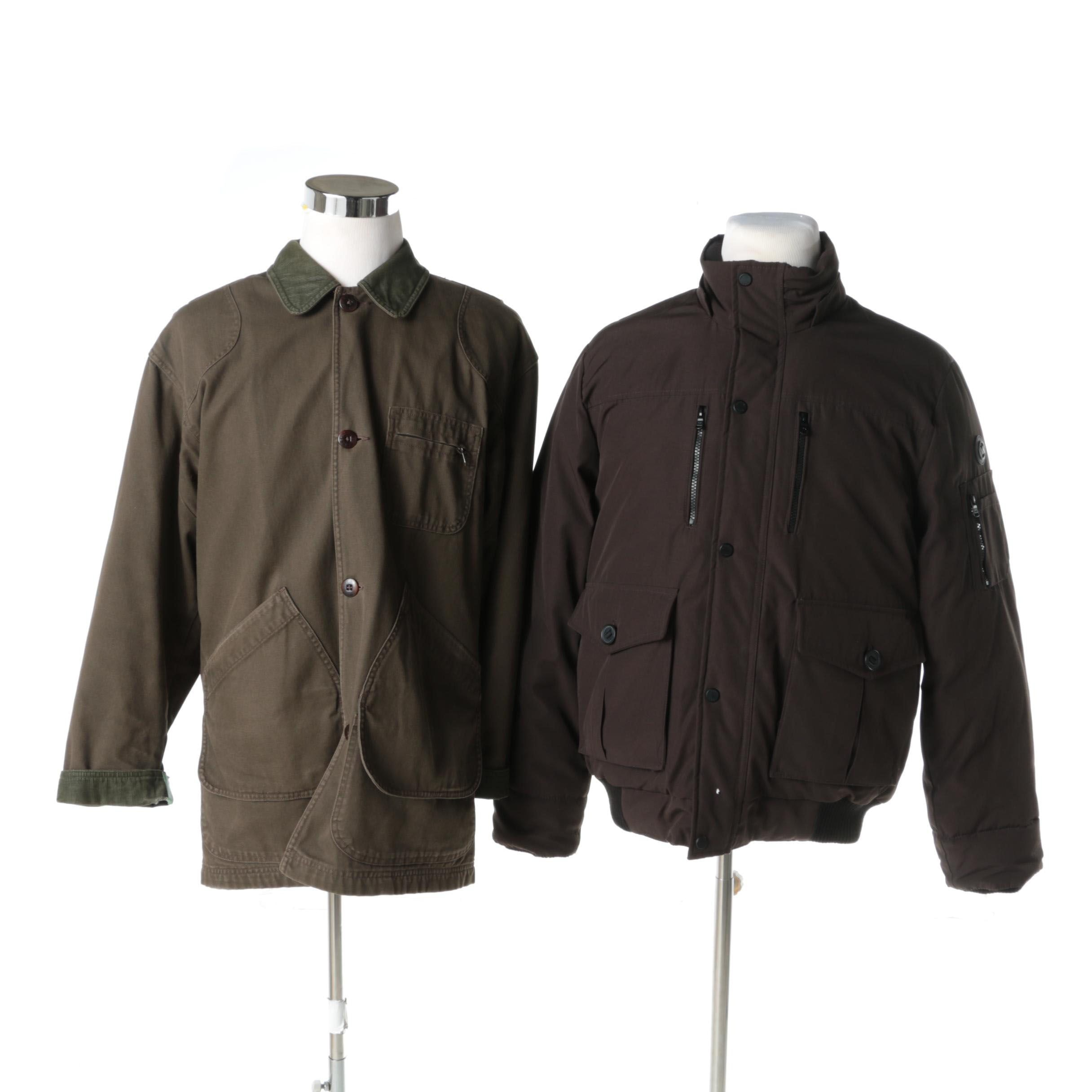 Men's Michael Kors and L.L. Bean Coats